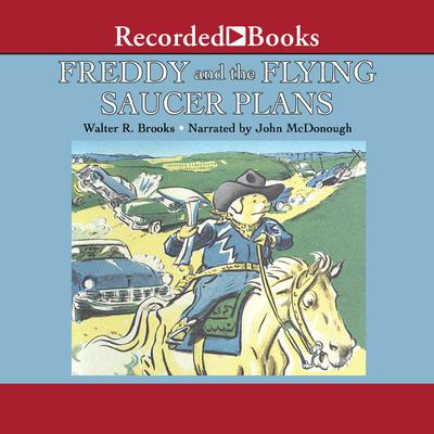 Freddy and the Flying Saucer Plans Audiobook, by