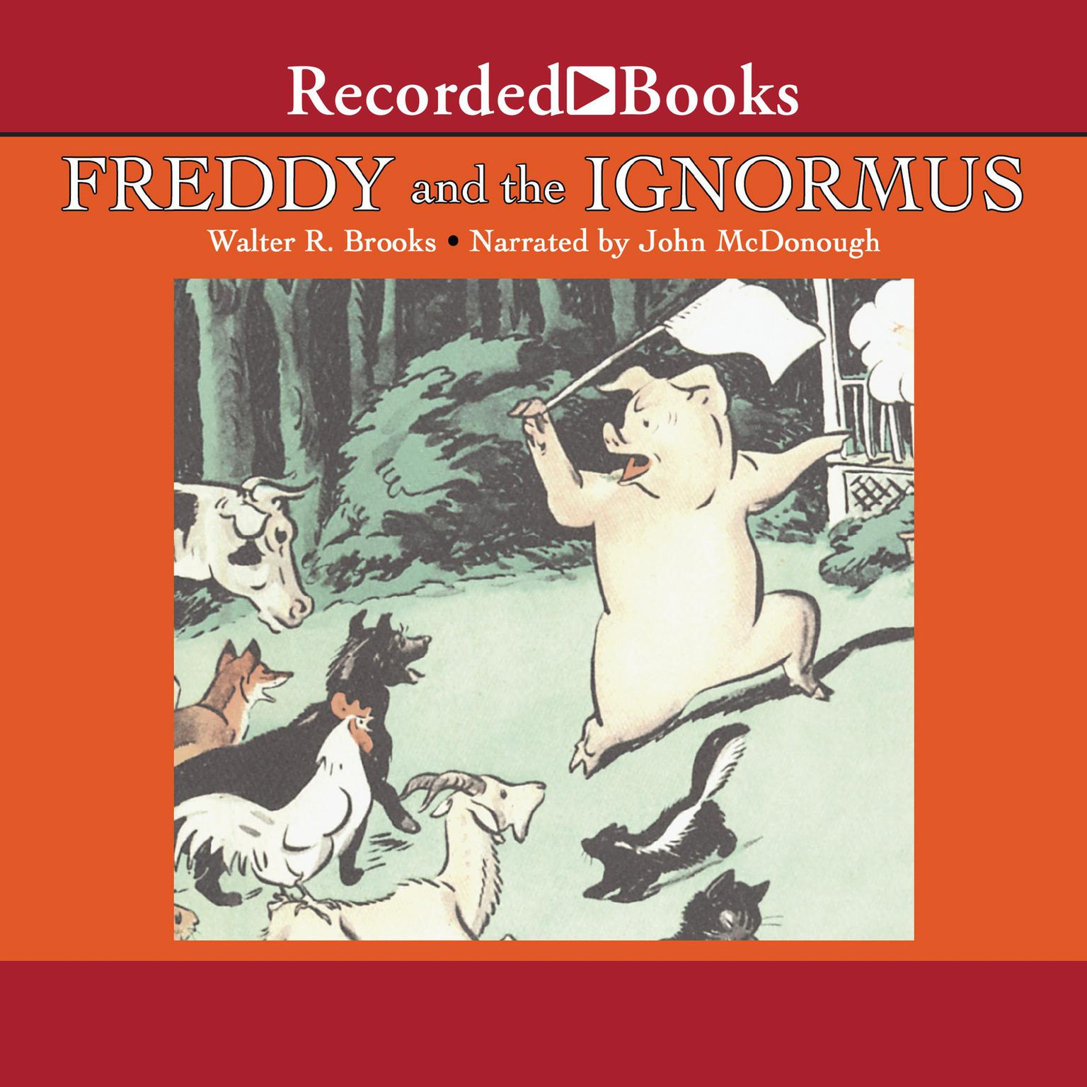 Printable Freddy and the Ignormus Audiobook Cover Art