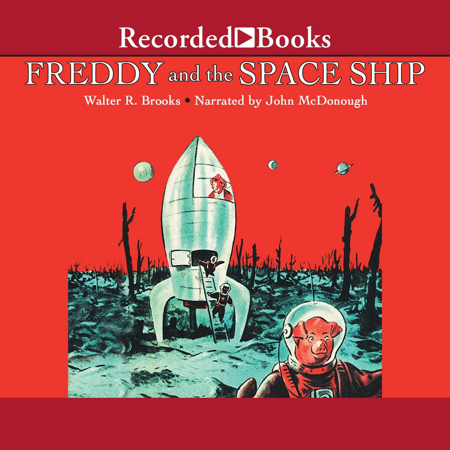 Printable Freddy and the Space Ship Audiobook Cover Art