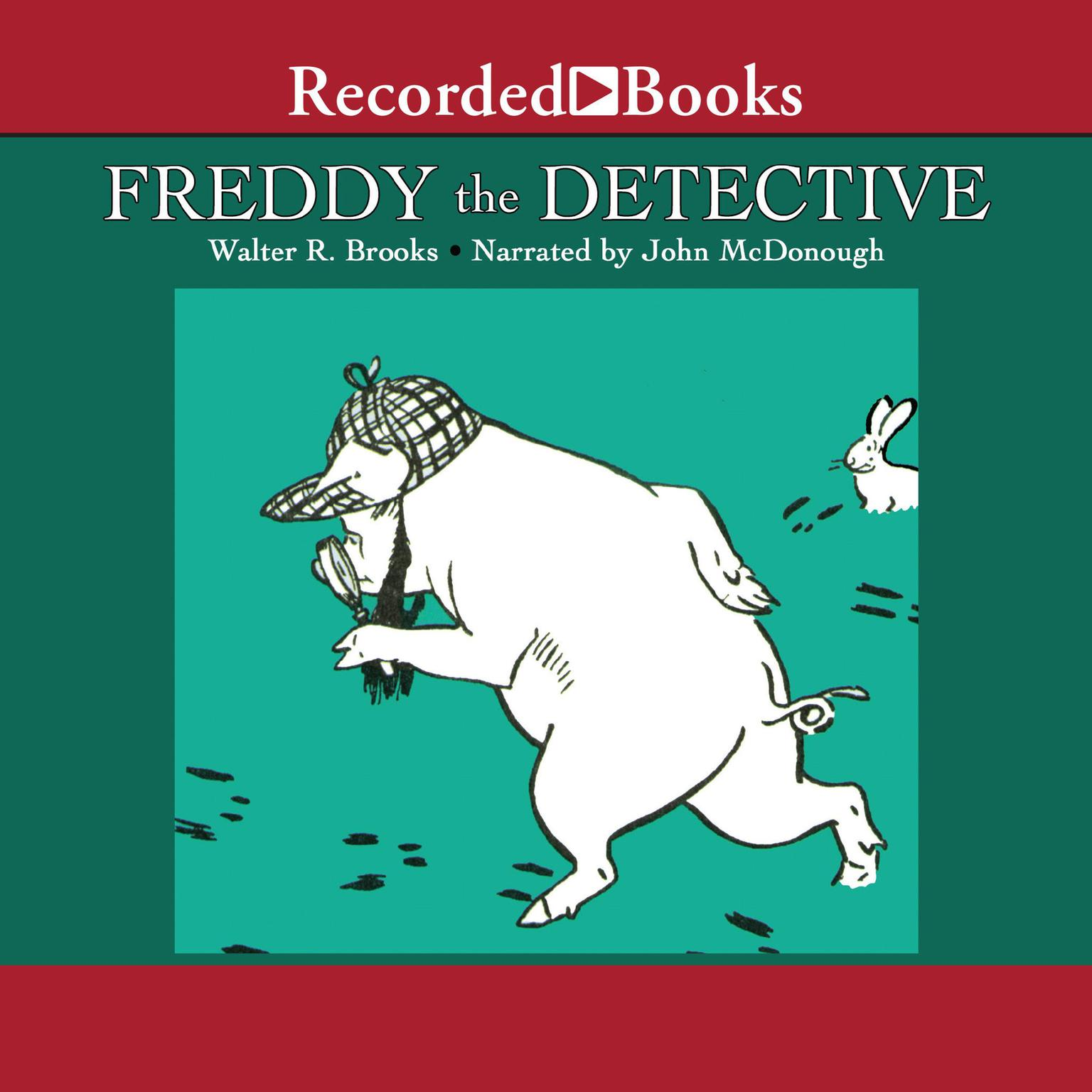 Printable Freddy the Detective Audiobook Cover Art