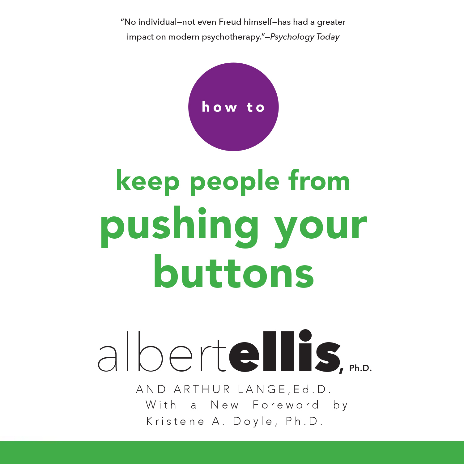 Printable How to Keep People from Pushing Your Buttons Audiobook Cover Art