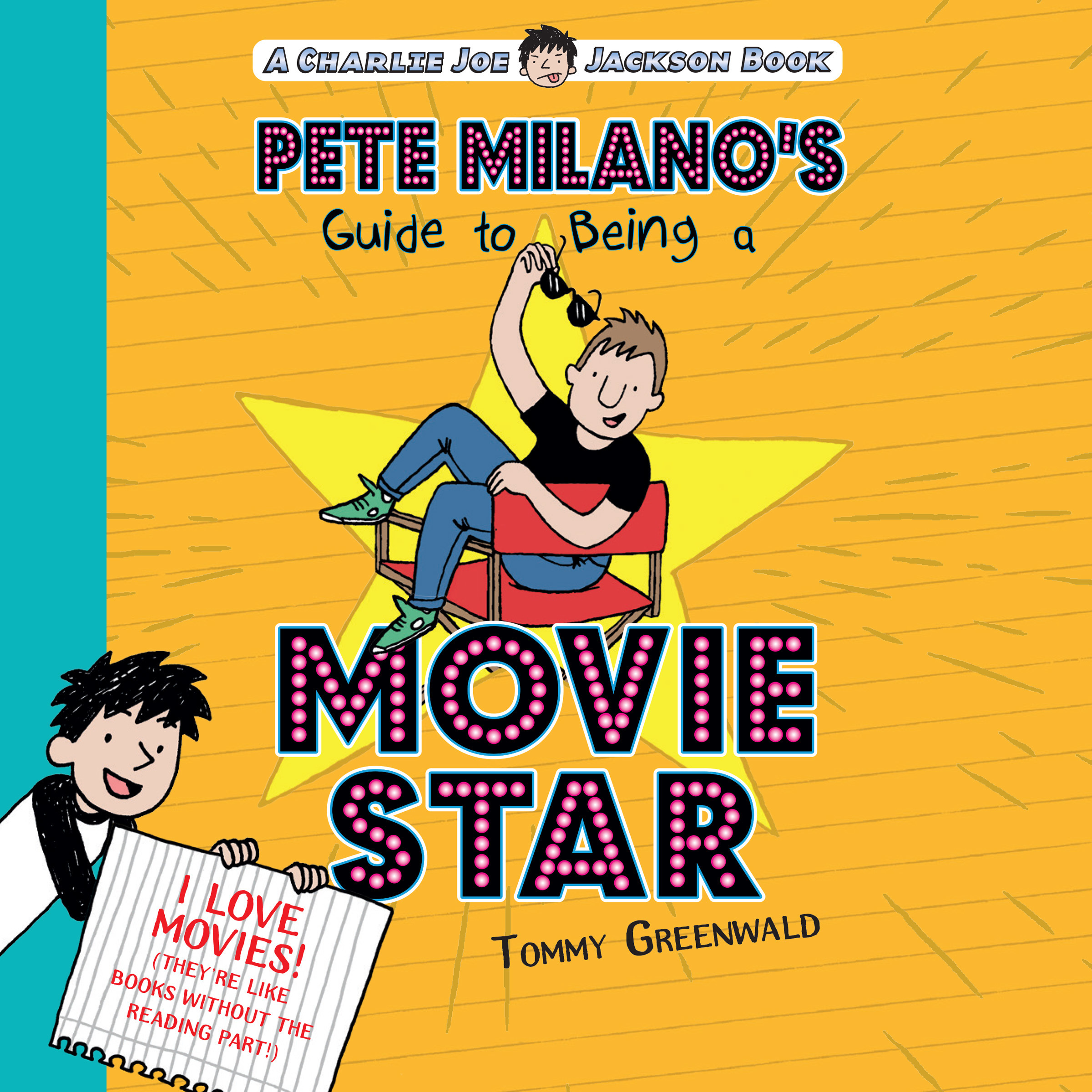 Printable Pete Milano's Guide to Being a Movie Star Audiobook Cover Art