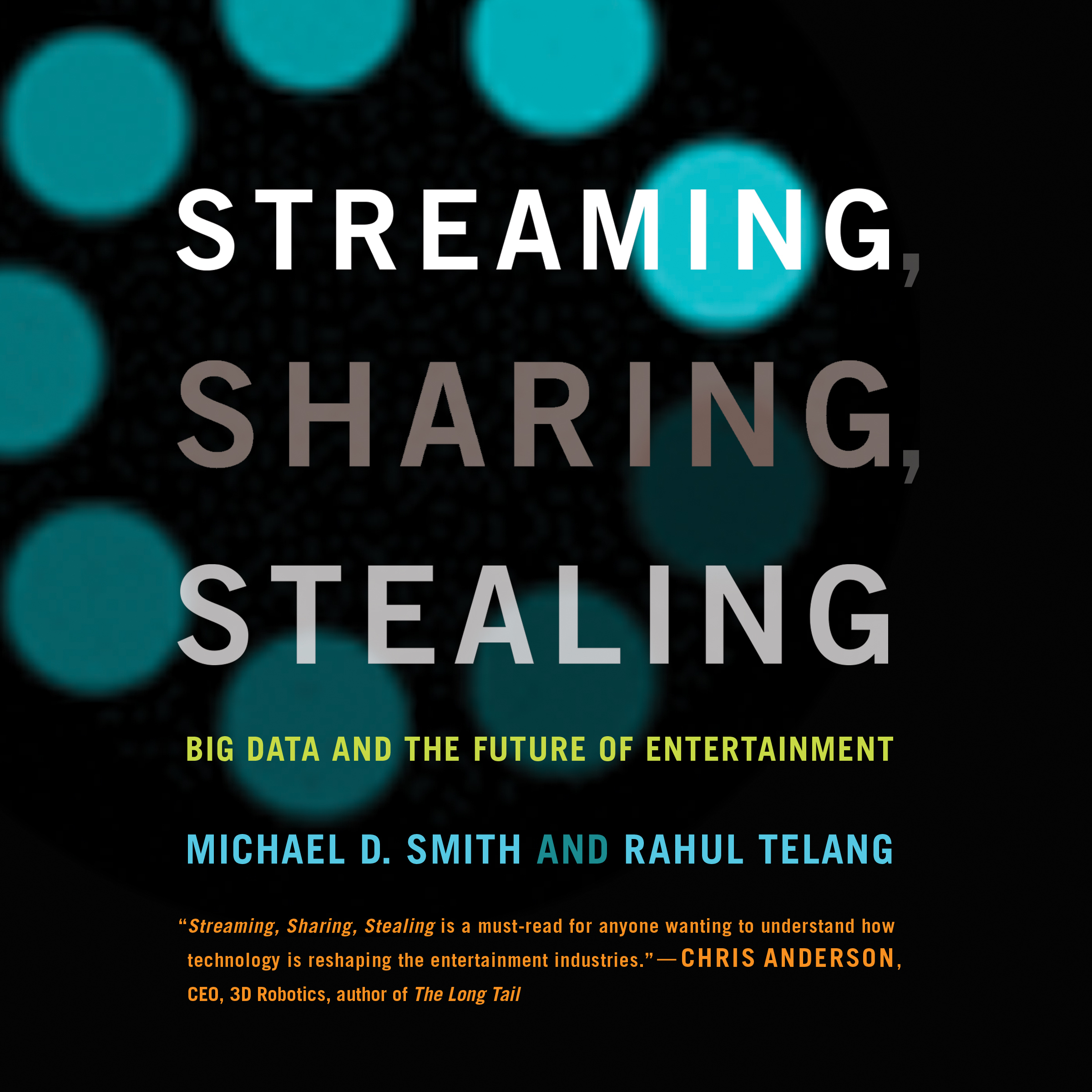 Printable Streaming, Sharing, Stealing: Big Data and the Future of Entertainment Audiobook Cover Art