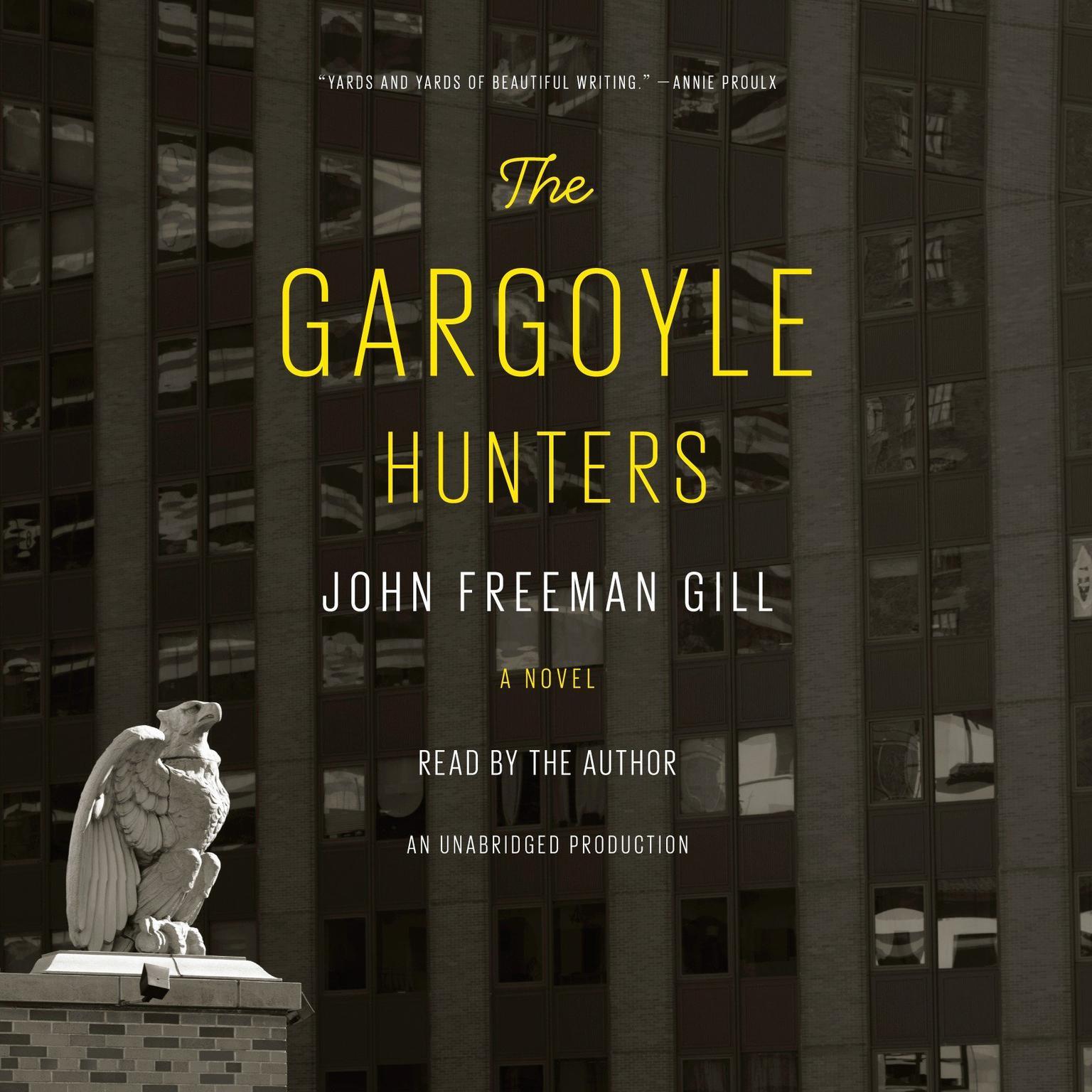 Printable The Gargoyle Hunters: A Novel Audiobook Cover Art