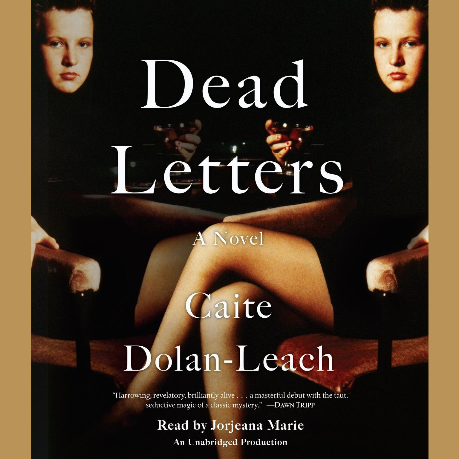 Printable Dead Letters: A Novel Audiobook Cover Art