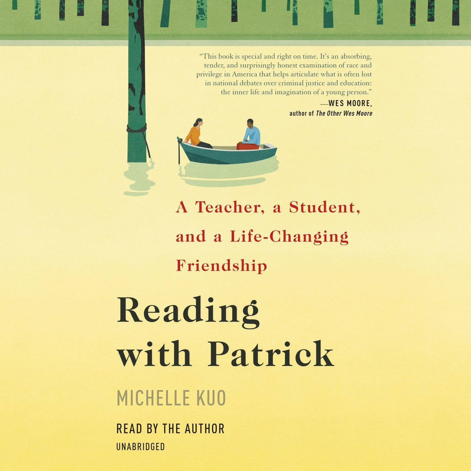Printable Reading with Patrick: A Teacher, a Student, and a Life-Changing Friendship Audiobook Cover Art