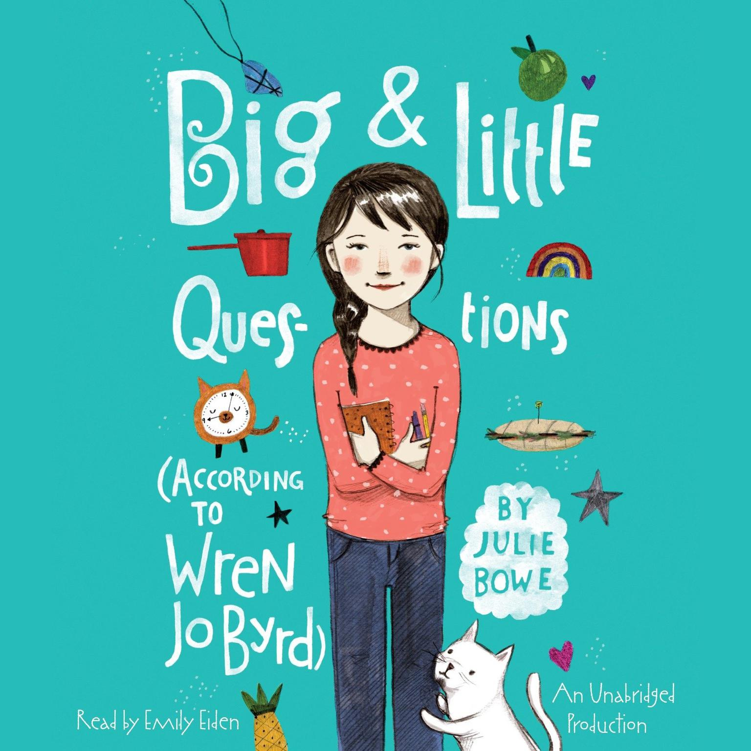 Printable Big & Little Questions (According to Wren Jo Byrd) Audiobook Cover Art