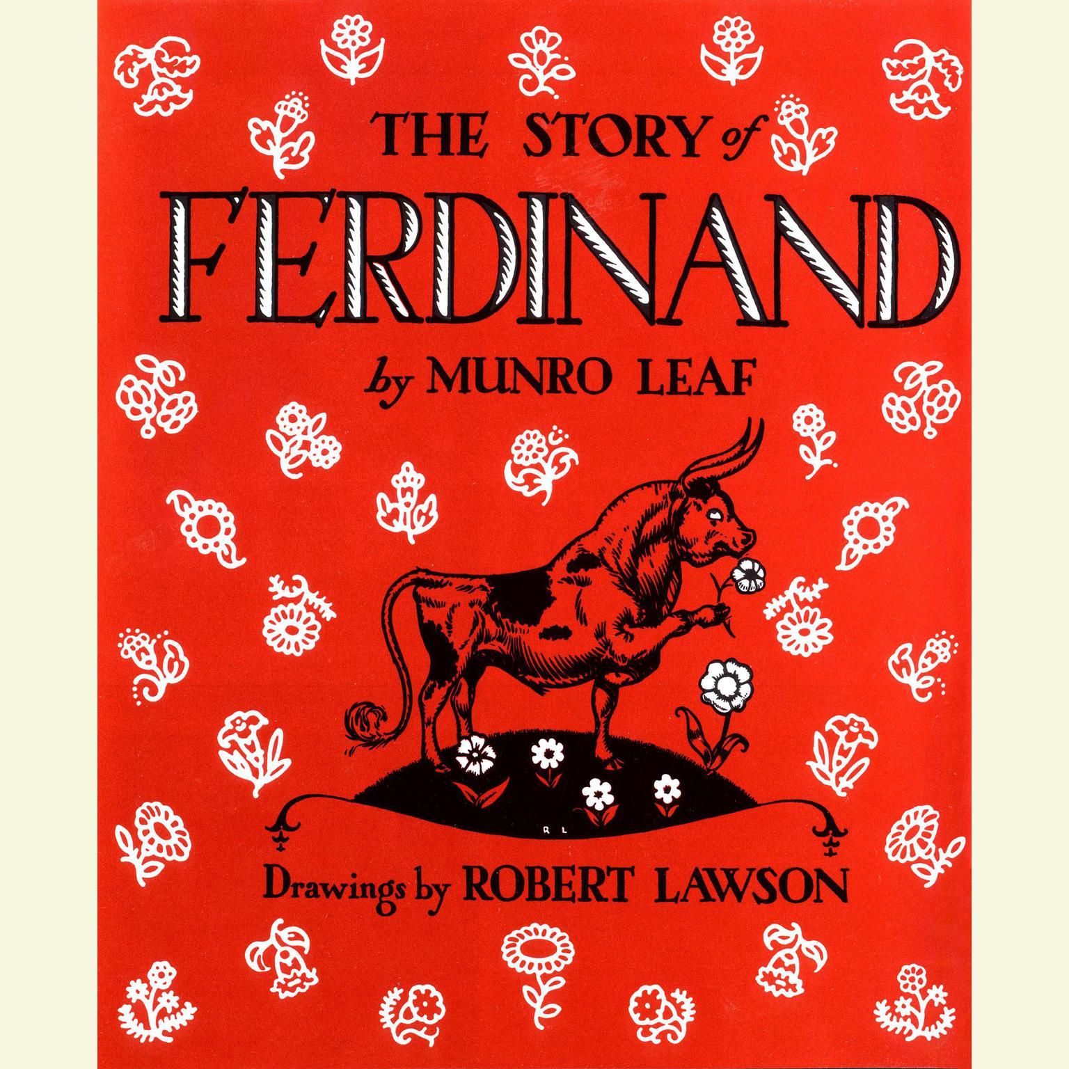 Printable The Story of Ferdinand Audiobook Cover Art
