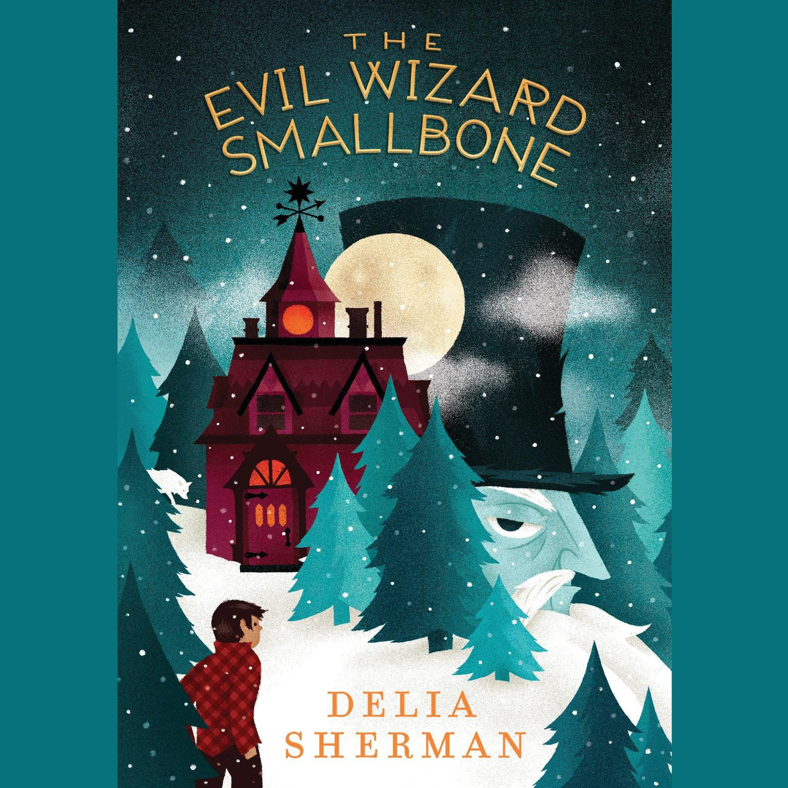 Printable The Evil Wizard Smallbone Audiobook Cover Art