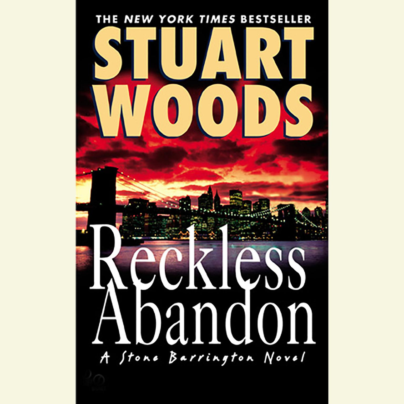 Printable Reckless Abandon Audiobook Cover Art