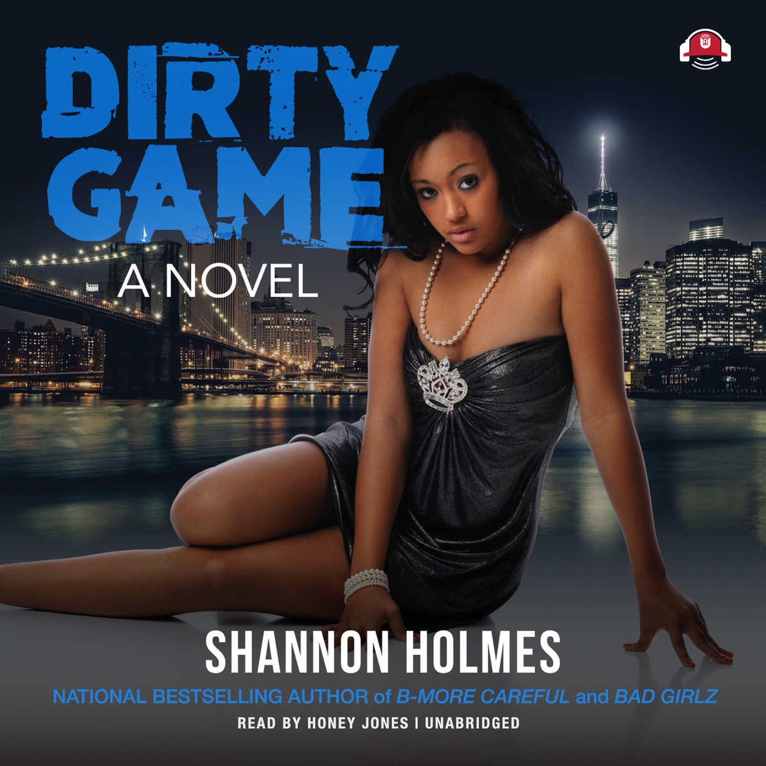 Printable Dirty Game Audiobook Cover Art