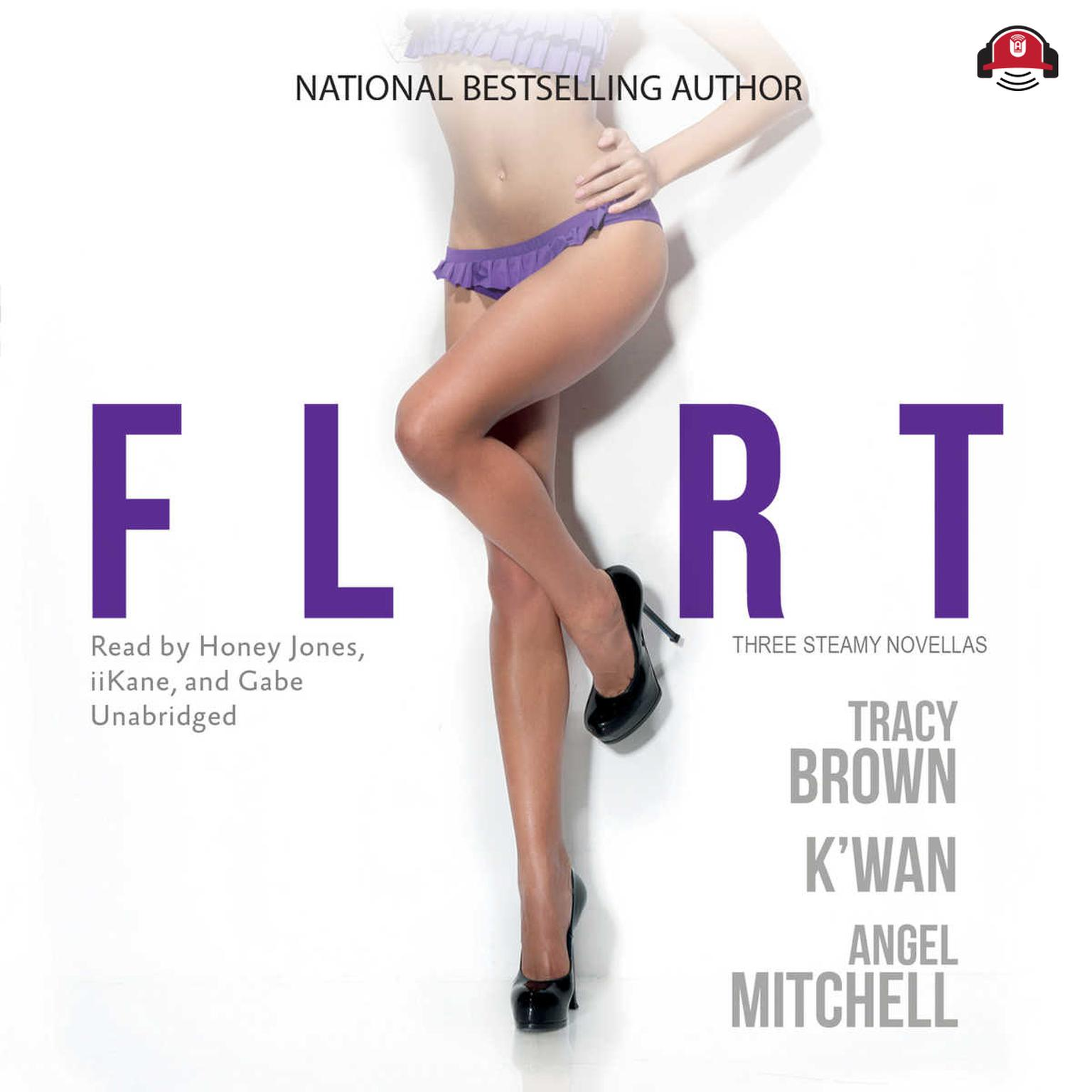 Printable Flirt Audiobook Cover Art