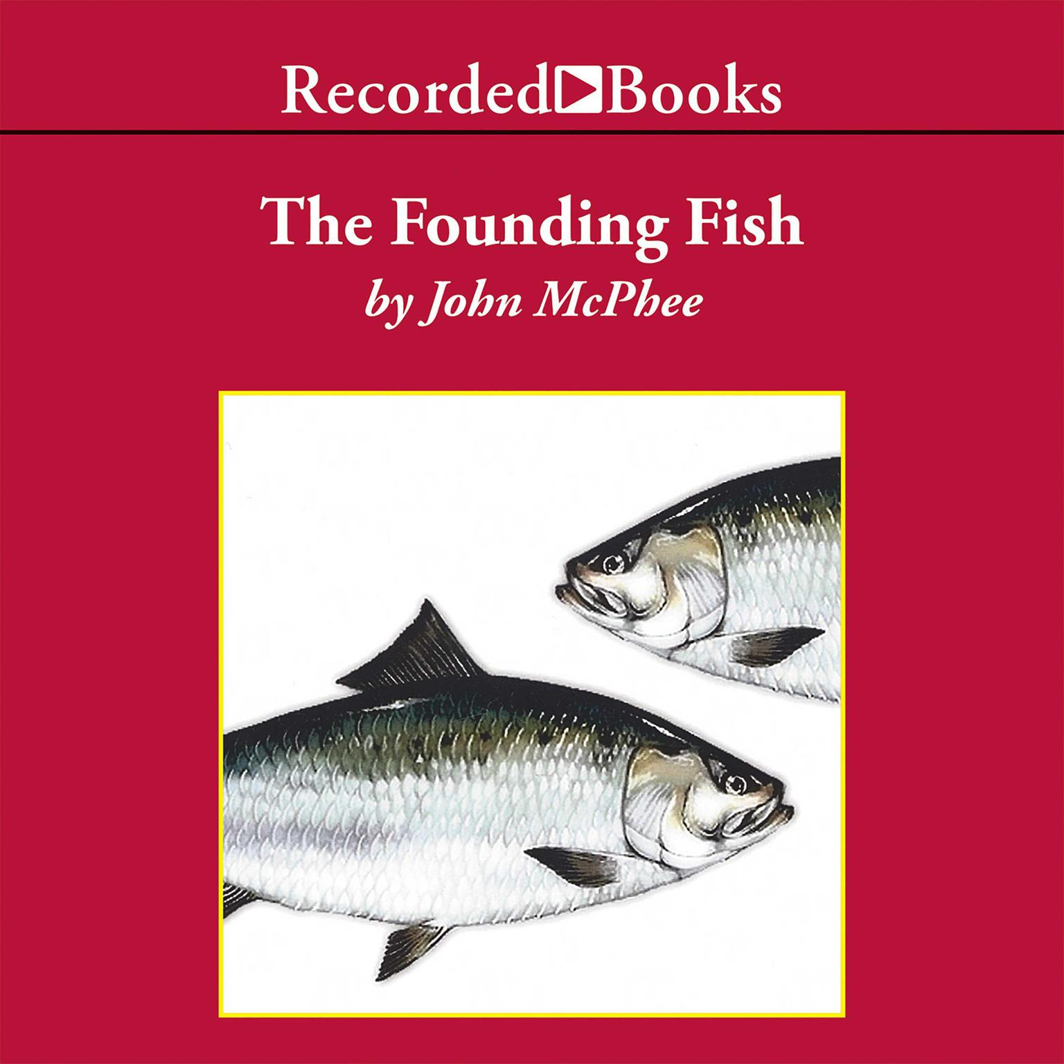 Printable The Founding Fish Audiobook Cover Art