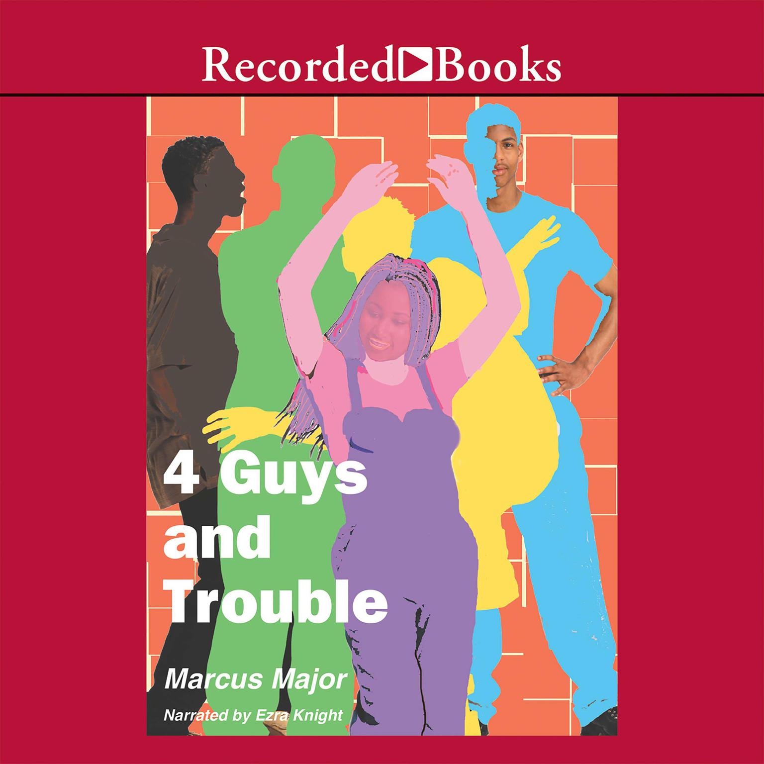 Printable 4 Guys and Trouble Audiobook Cover Art