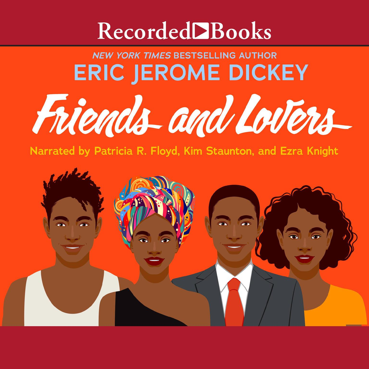 Printable Friends and Lovers Audiobook Cover Art