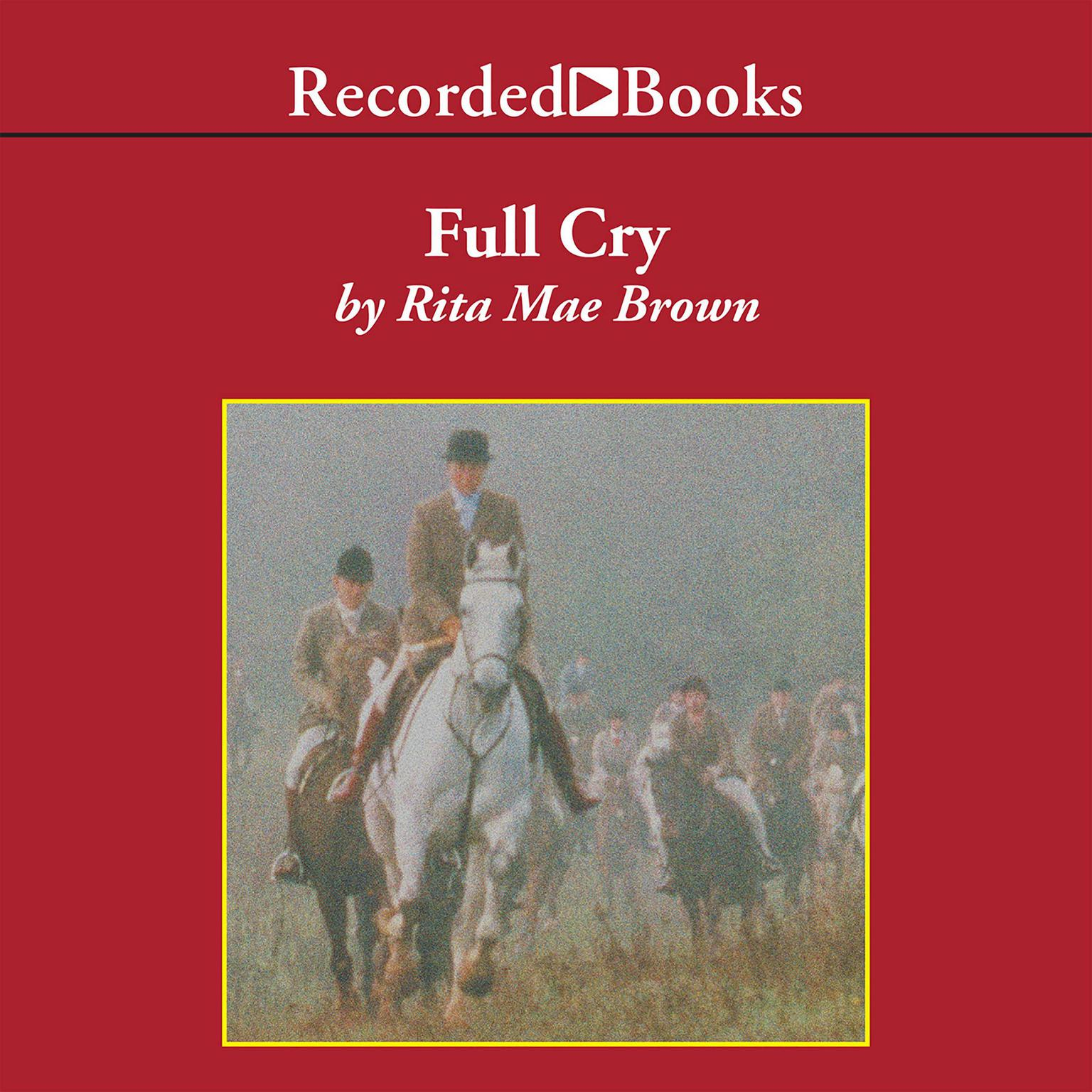 Printable Full Cry Audiobook Cover Art