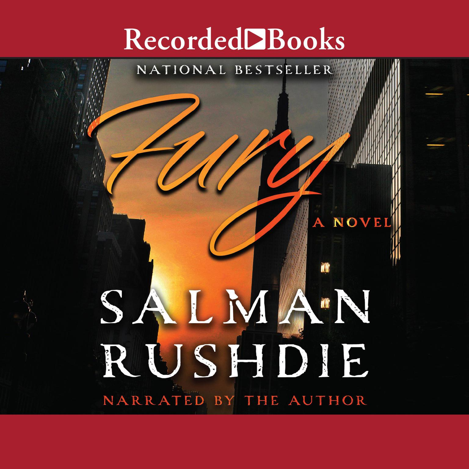 Printable Fury: A Novel Audiobook Cover Art