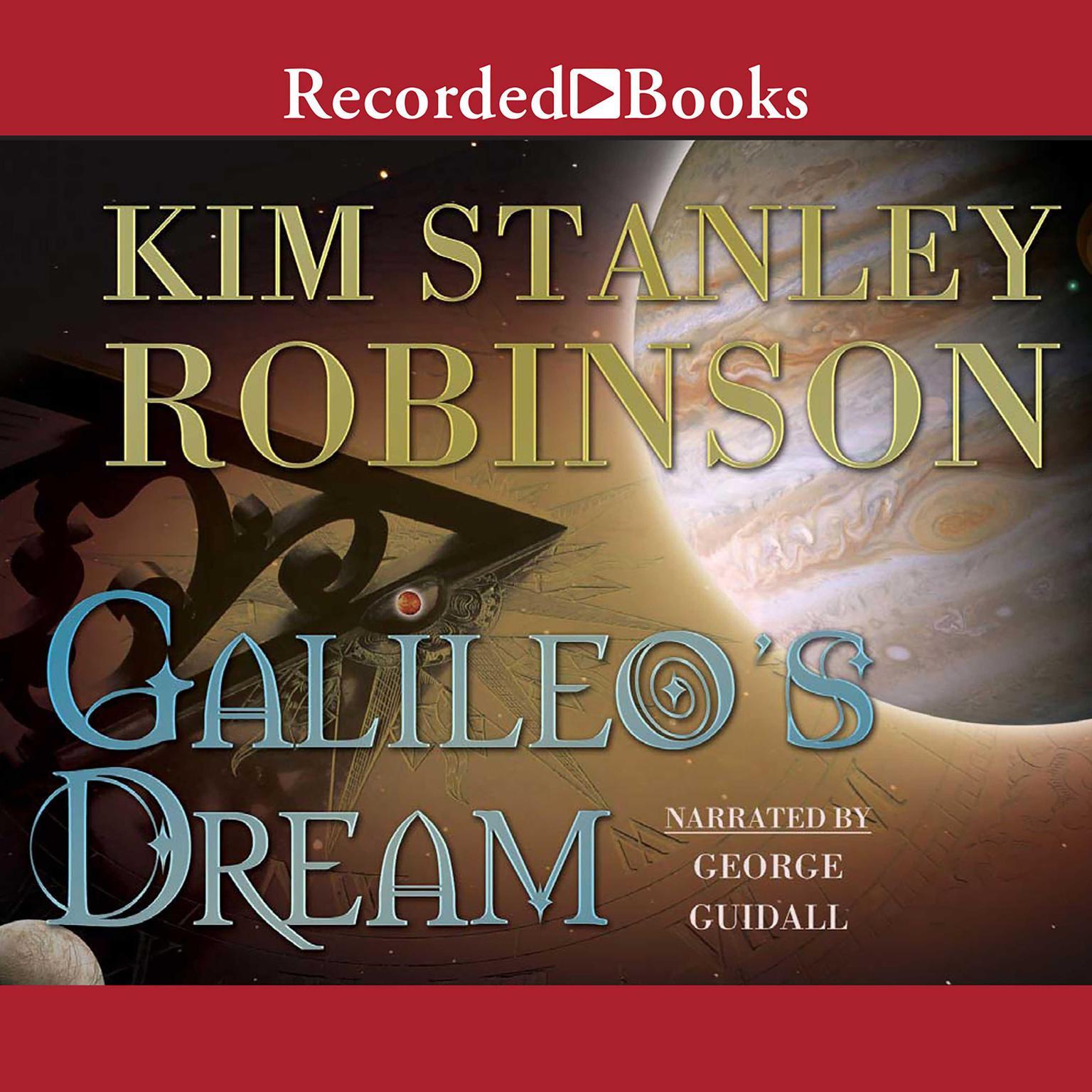 Printable Galileo's Dream Audiobook Cover Art
