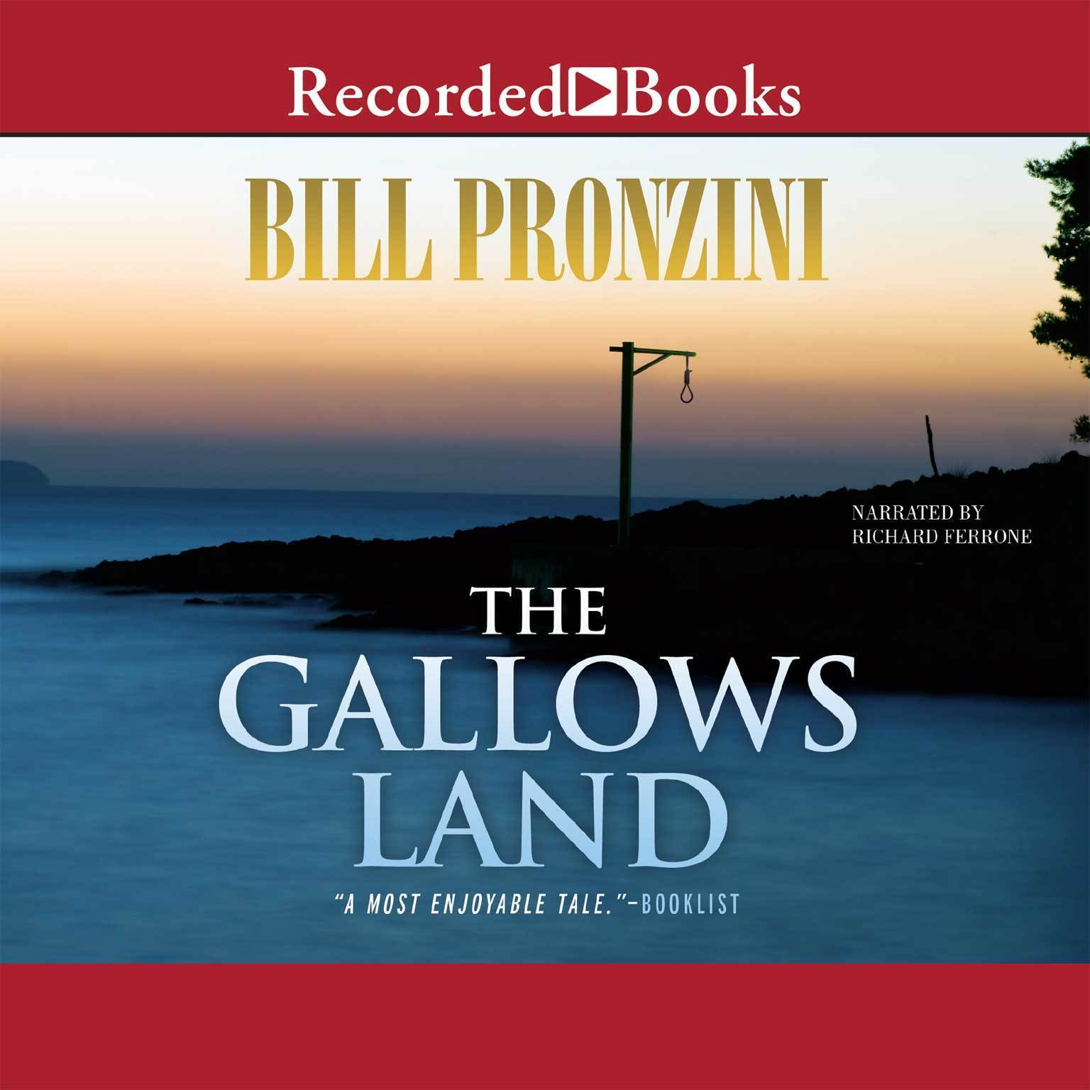 Printable The Gallows Land Audiobook Cover Art