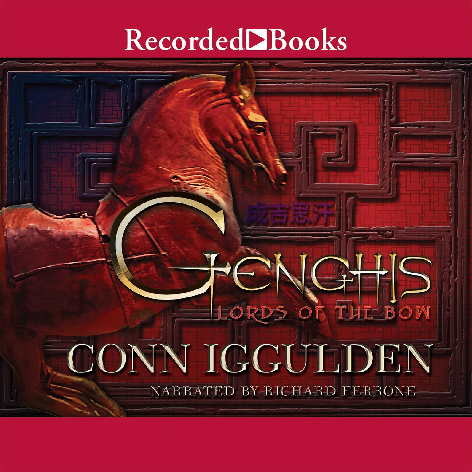 Printable Genghis: Lords of the Bow Audiobook Cover Art