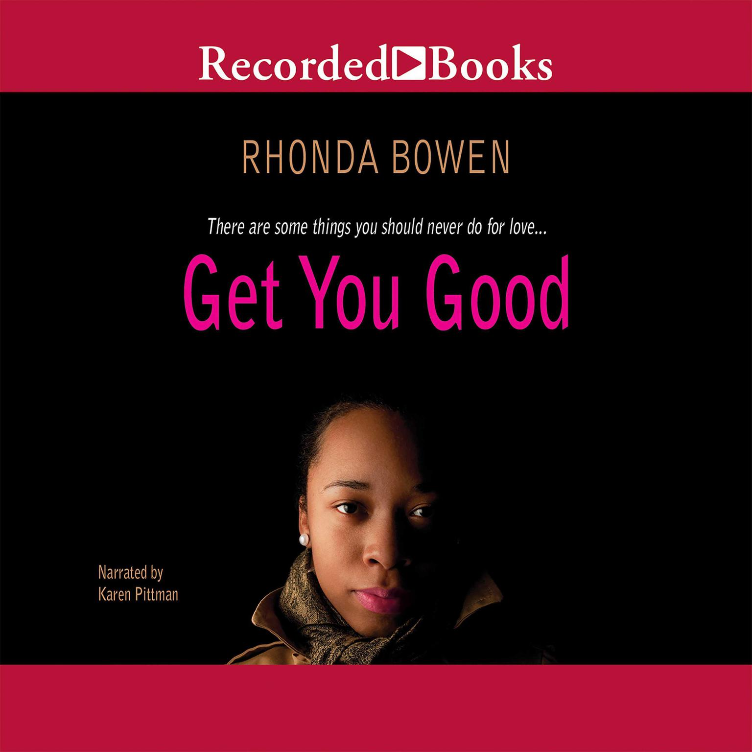 Printable Get You Good Audiobook Cover Art