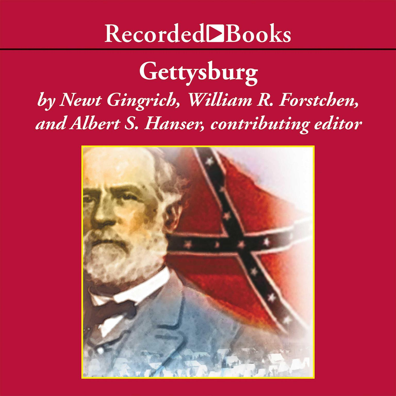 Printable Gettysburg: A Novel of the Civil War Audiobook Cover Art