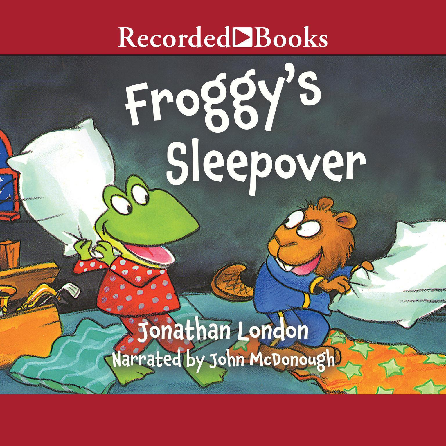 Printable Froggy's Sleepover Audiobook Cover Art
