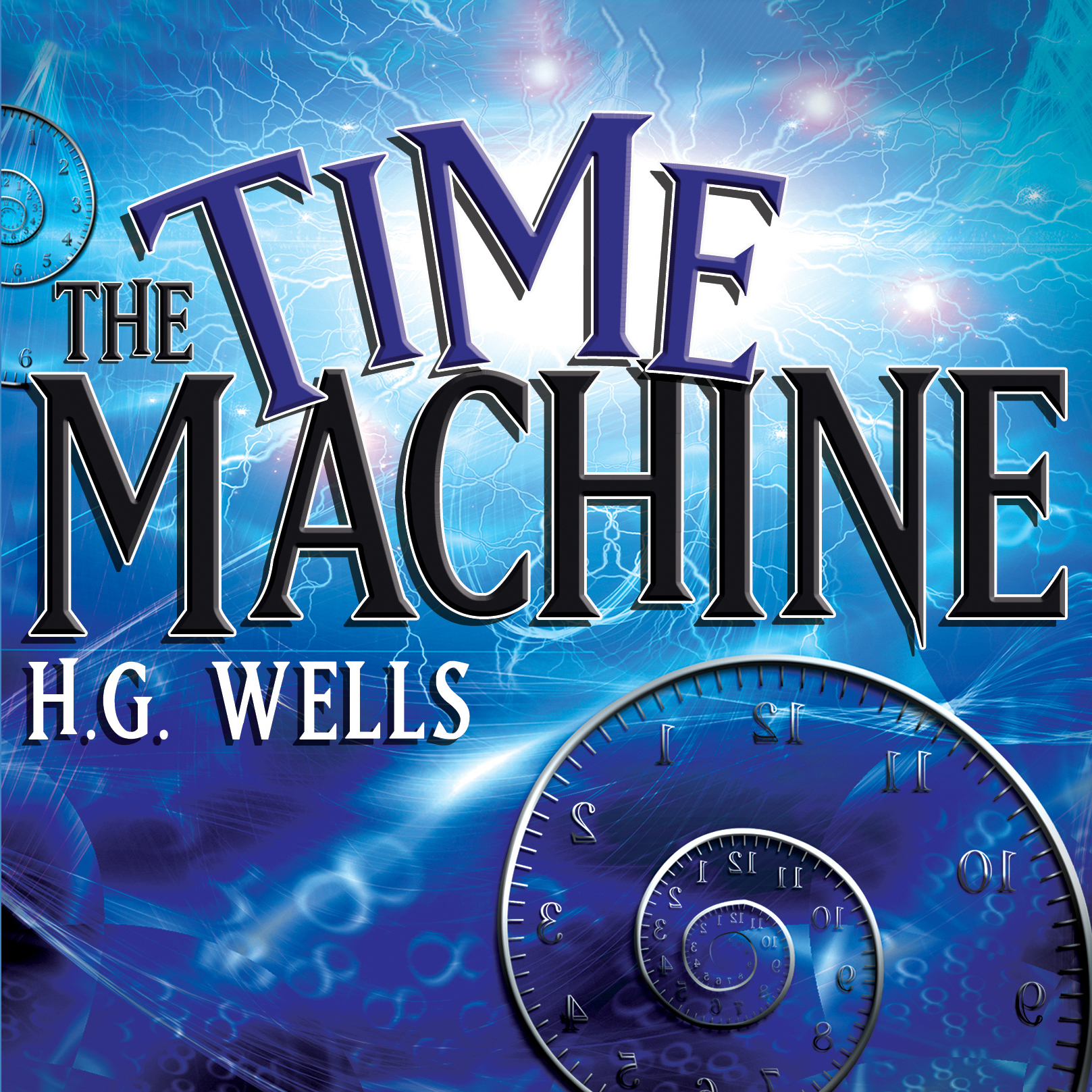 Printable The Time Machine Audiobook Cover Art
