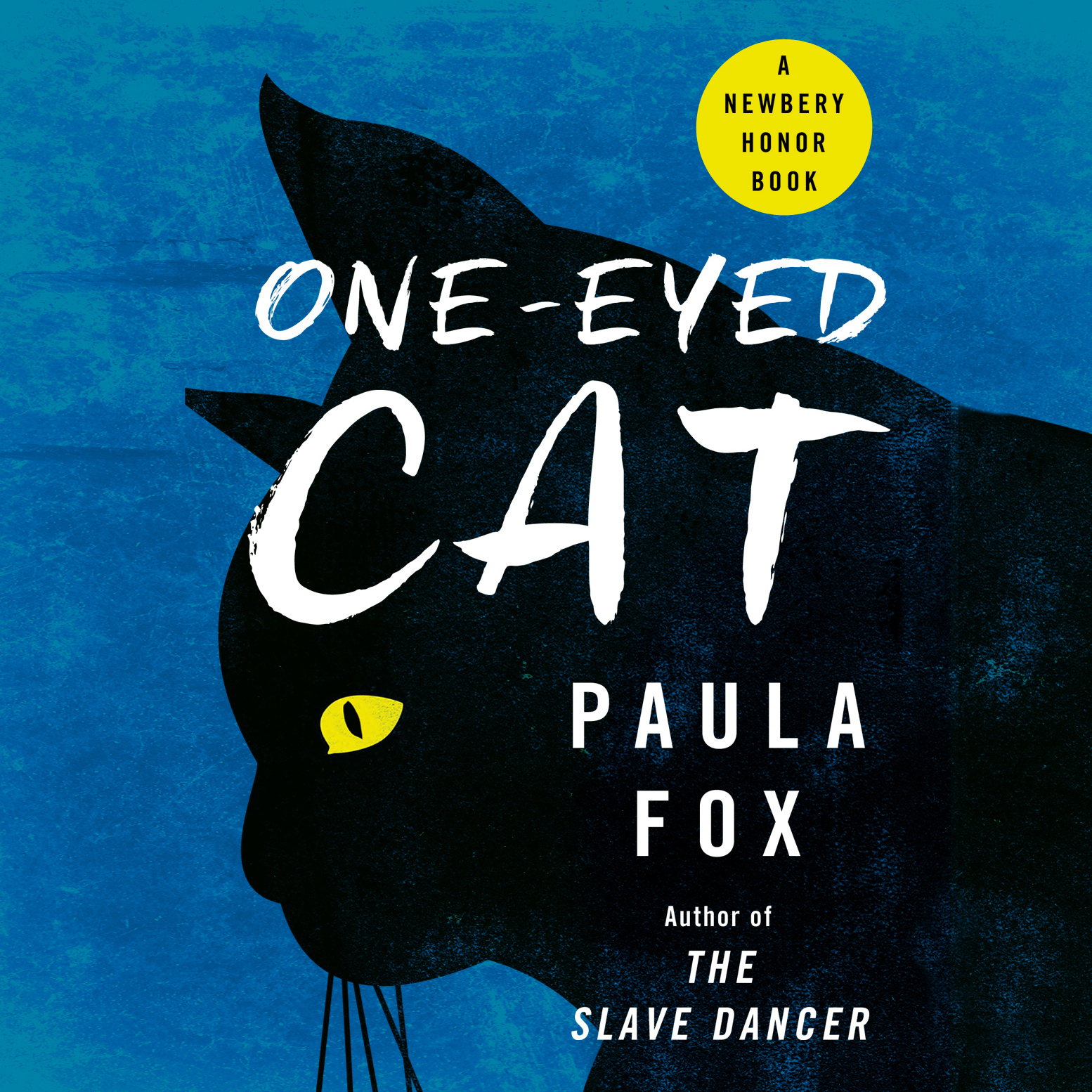 Printable One-Eyed Cat Audiobook Cover Art