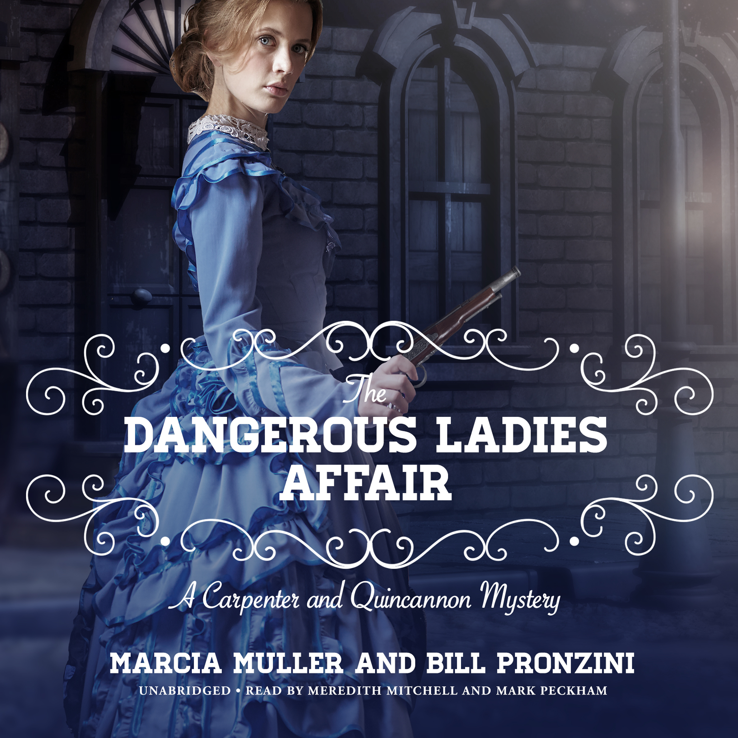 Printable The Dangerous Ladies Affair: A Carpenter and Quincannon Mystery Audiobook Cover Art