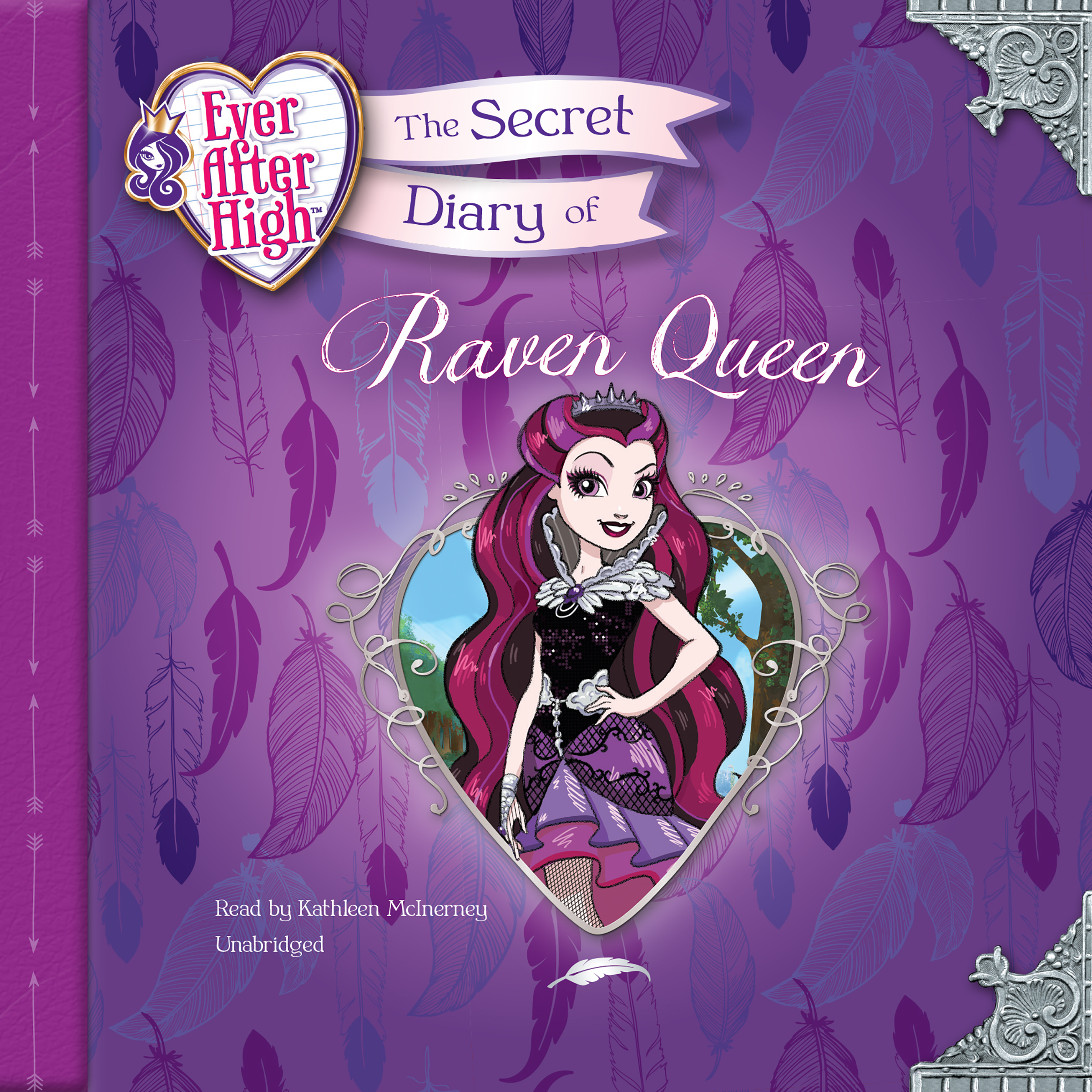Printable Ever After High: The Secret Diary of Raven Queen Audiobook Cover Art