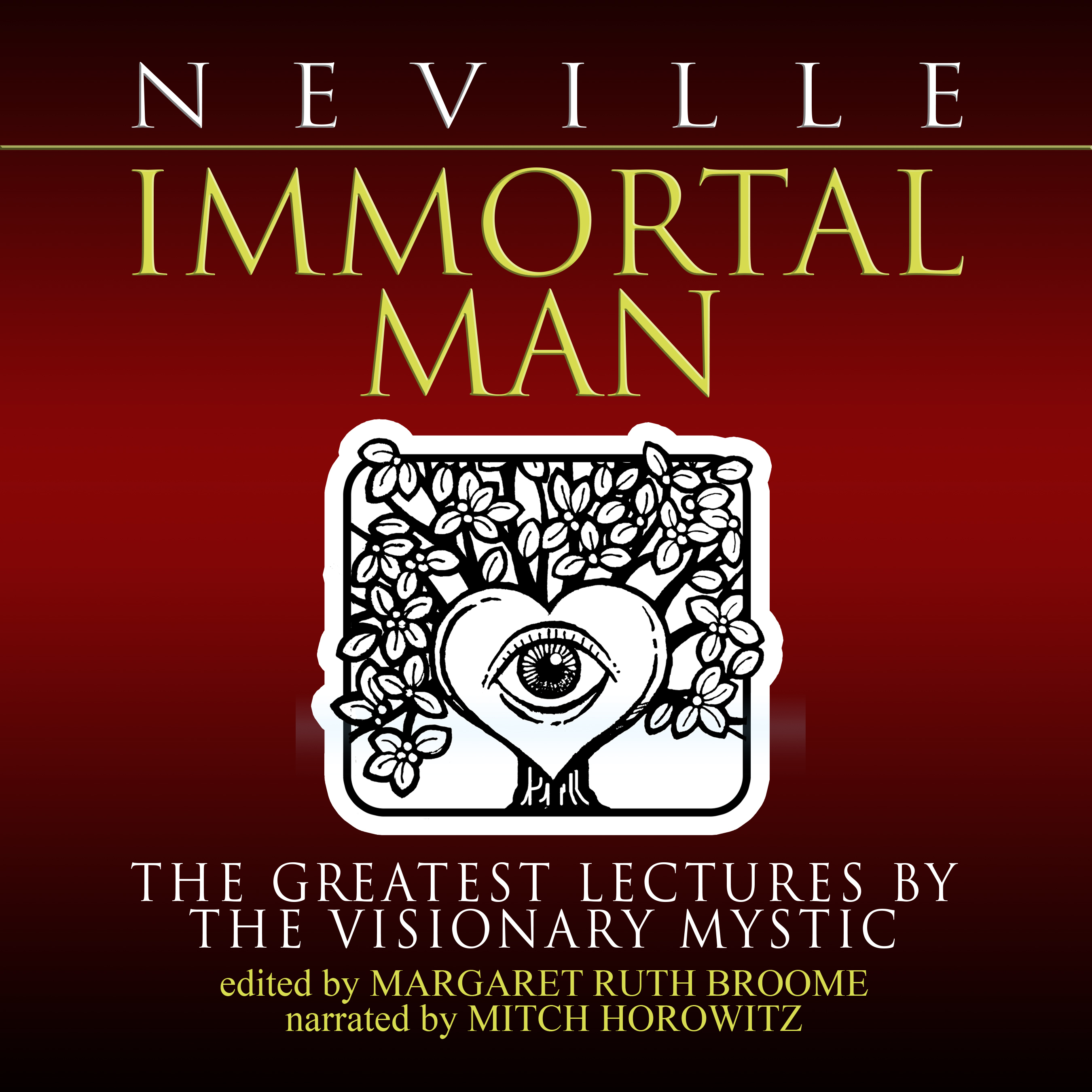 Printable Immortal Man: The Greatest Lectures by the Visionary Mystic Audiobook Cover Art