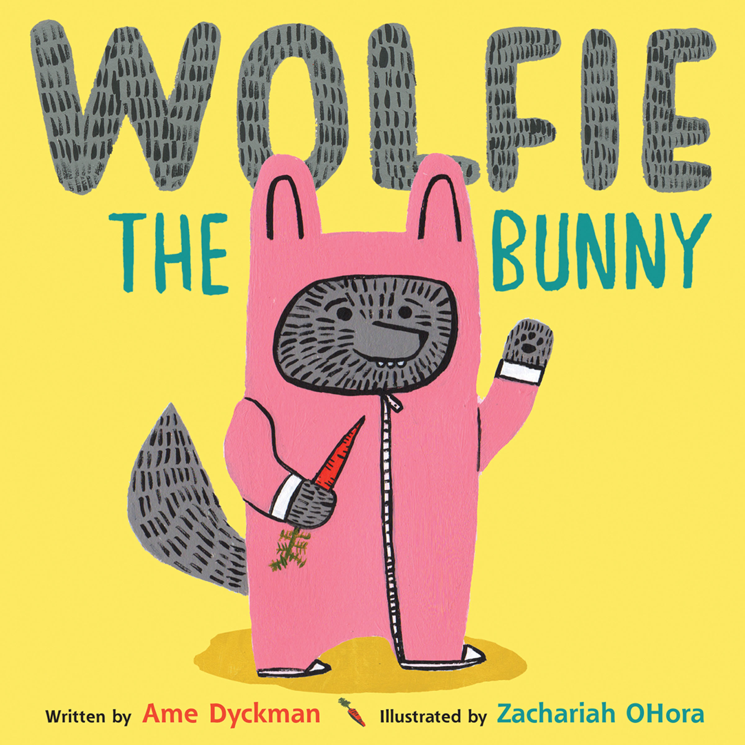 Printable Wolfie the Bunny Audiobook Cover Art
