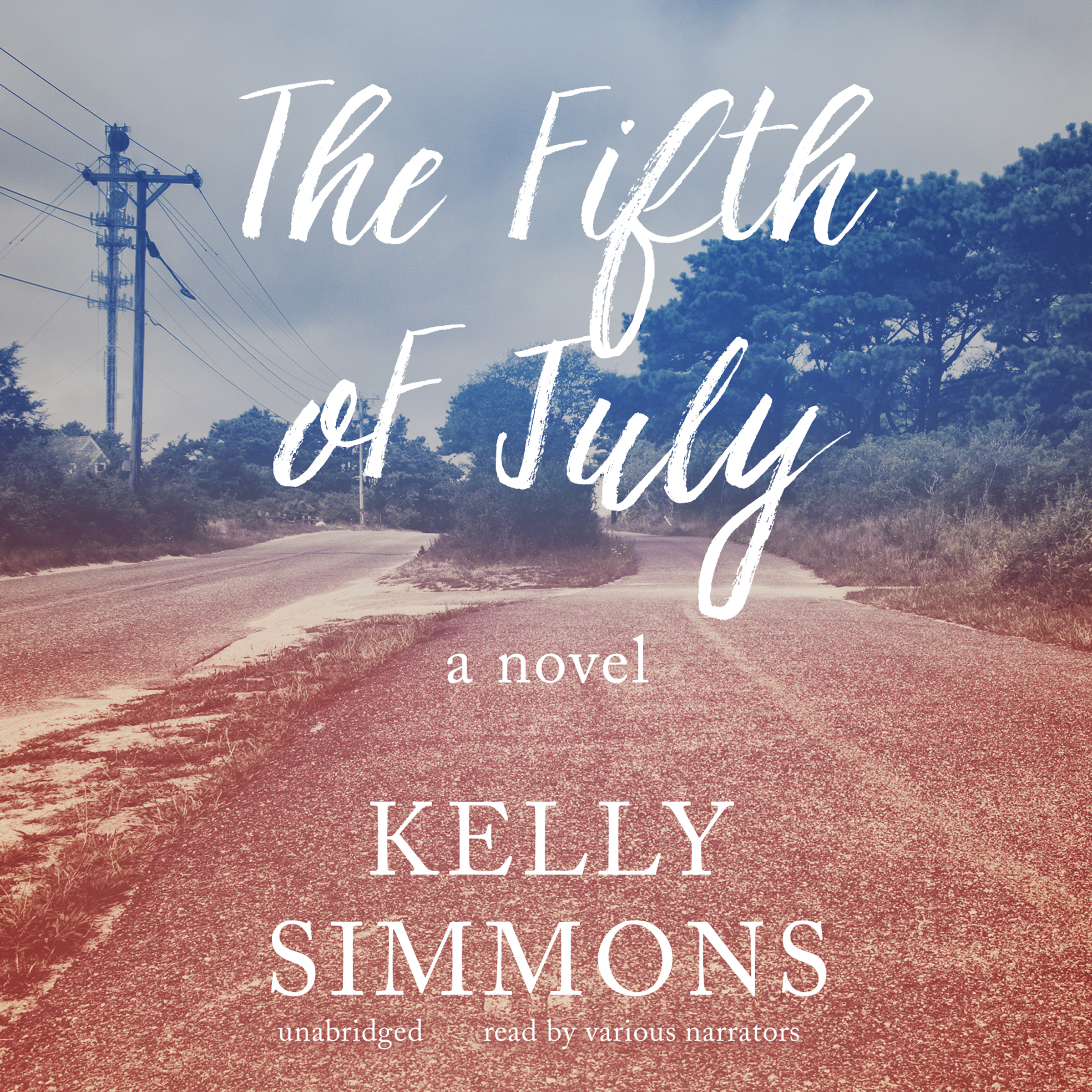 Printable The Fifth of July: A Novel Audiobook Cover Art