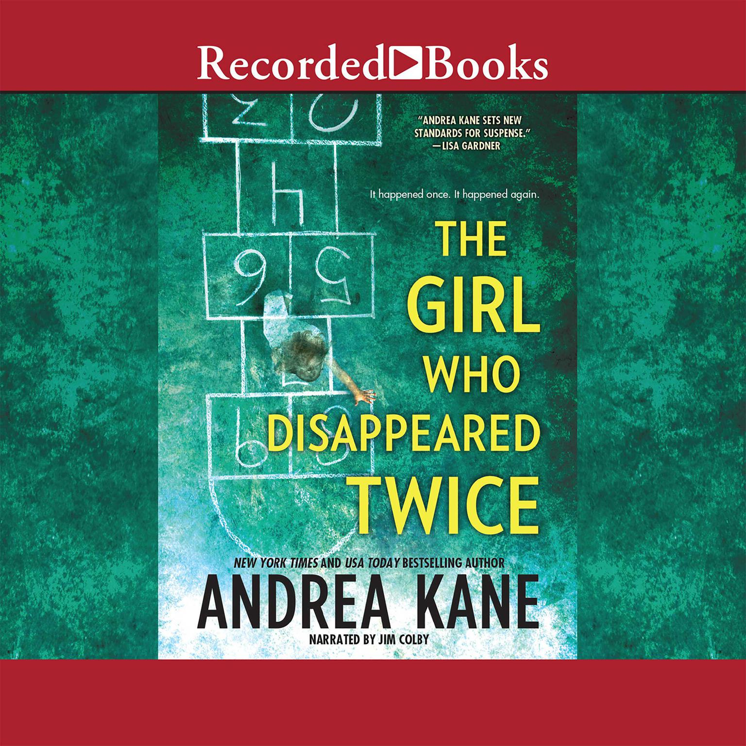Printable The Girl Who Disappeared Twice Audiobook Cover Art