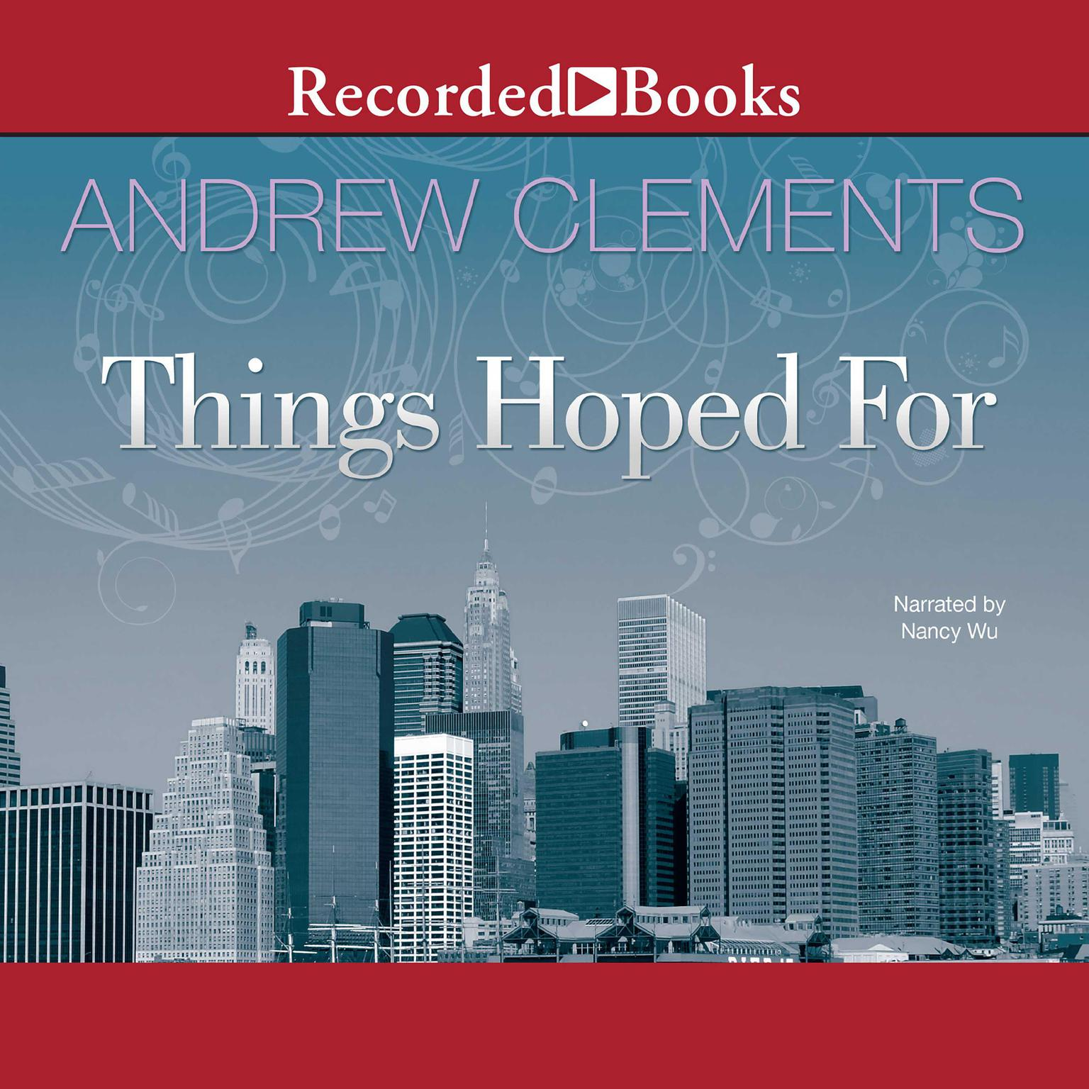 Printable Things Hoped For Audiobook Cover Art