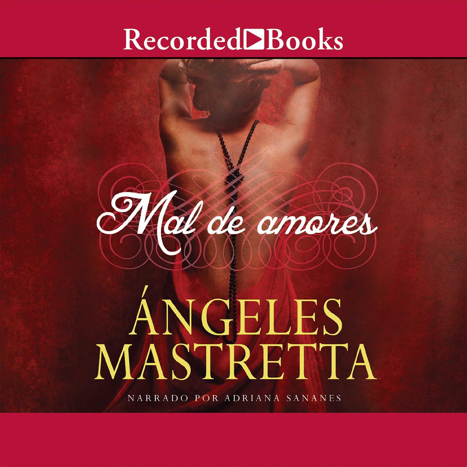 Printable Mal de amores Audiobook Cover Art