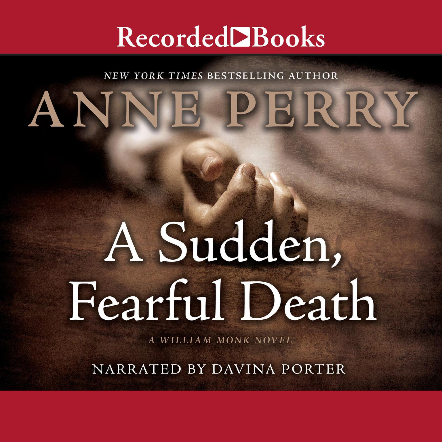 Printable A Sudden, Fearful Death Audiobook Cover Art