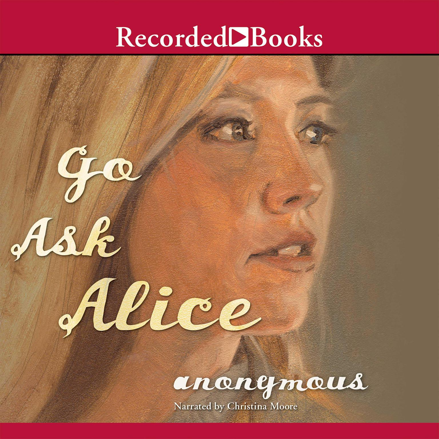 Printable Go Ask Alice Audiobook Cover Art