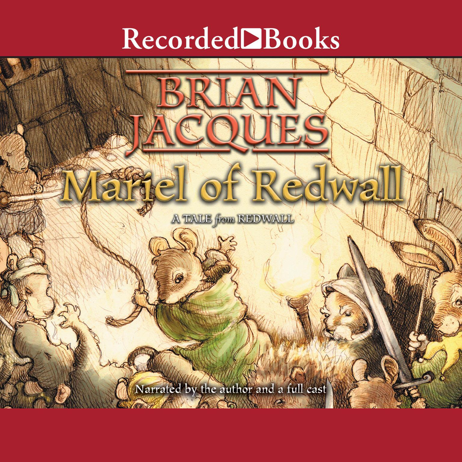 Printable Mariel of Redwall Audiobook Cover Art