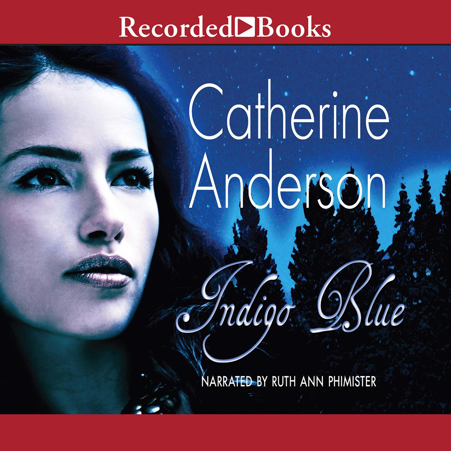 Printable Indigo Blue Audiobook Cover Art