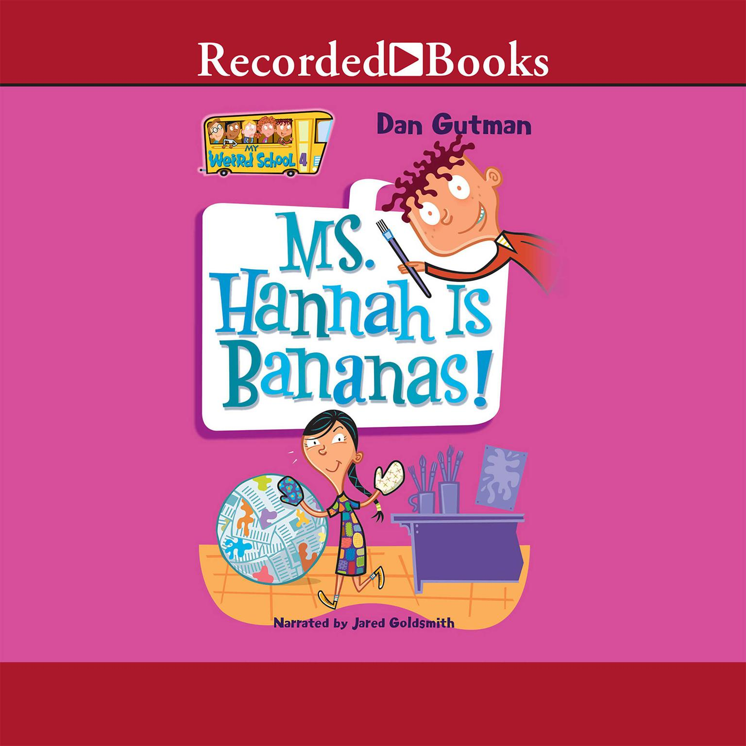 Printable Ms. Hannah is Bananas Audiobook Cover Art