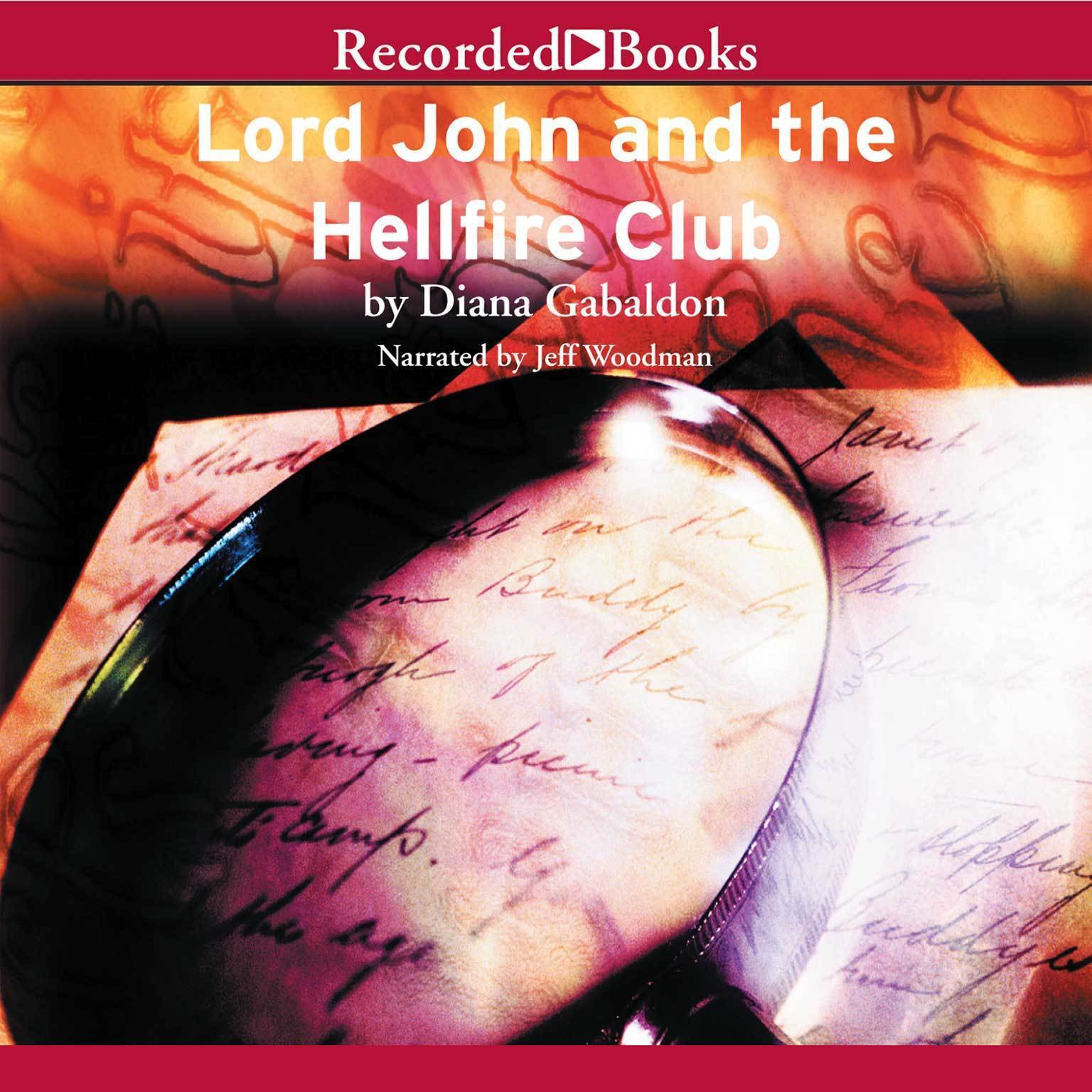 Printable Lord John and the Hellfire Club Audiobook Cover Art