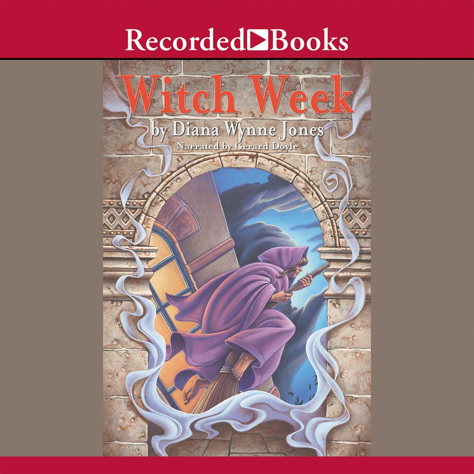 Printable Witch Week Audiobook Cover Art