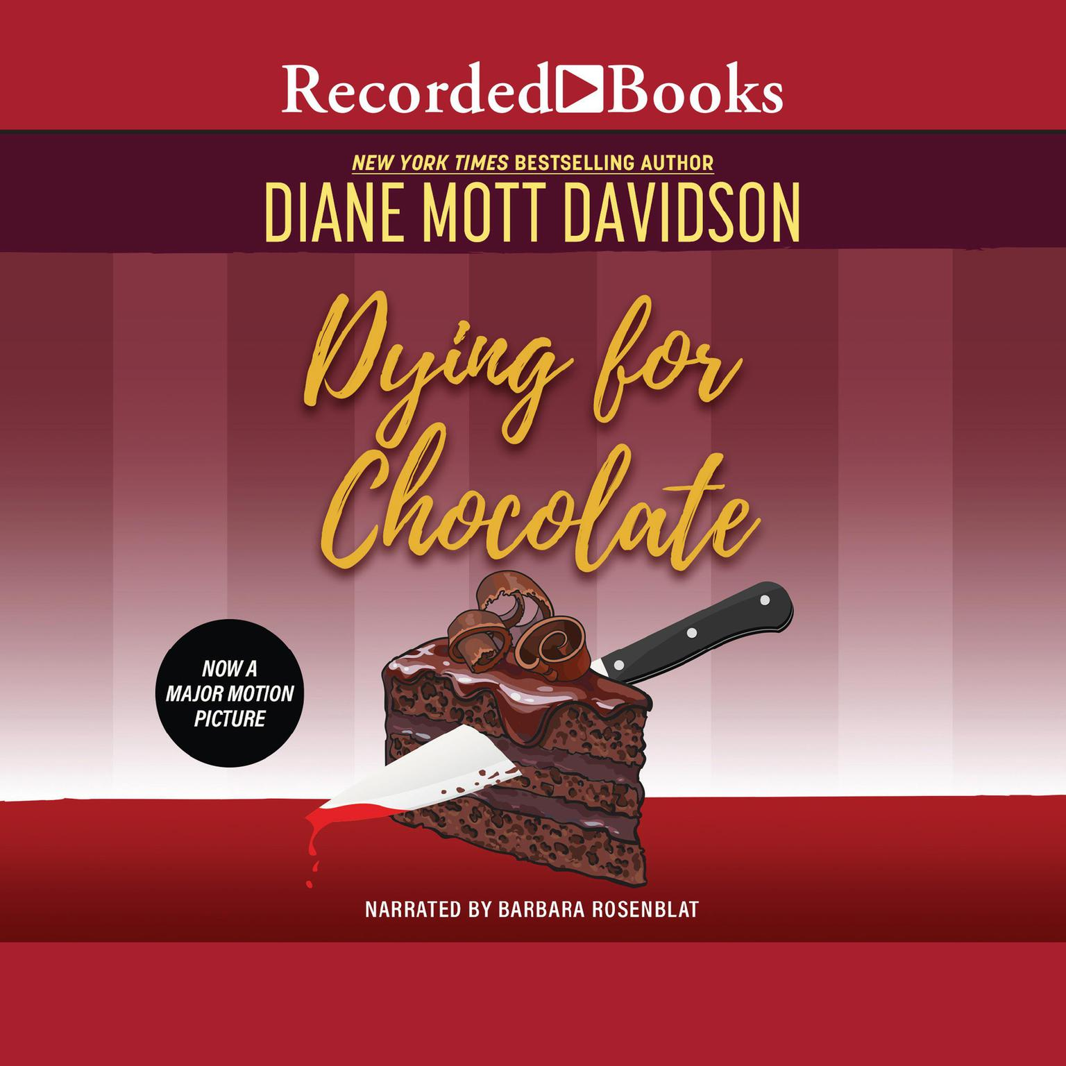 Printable Dying for Chocolate Audiobook Cover Art