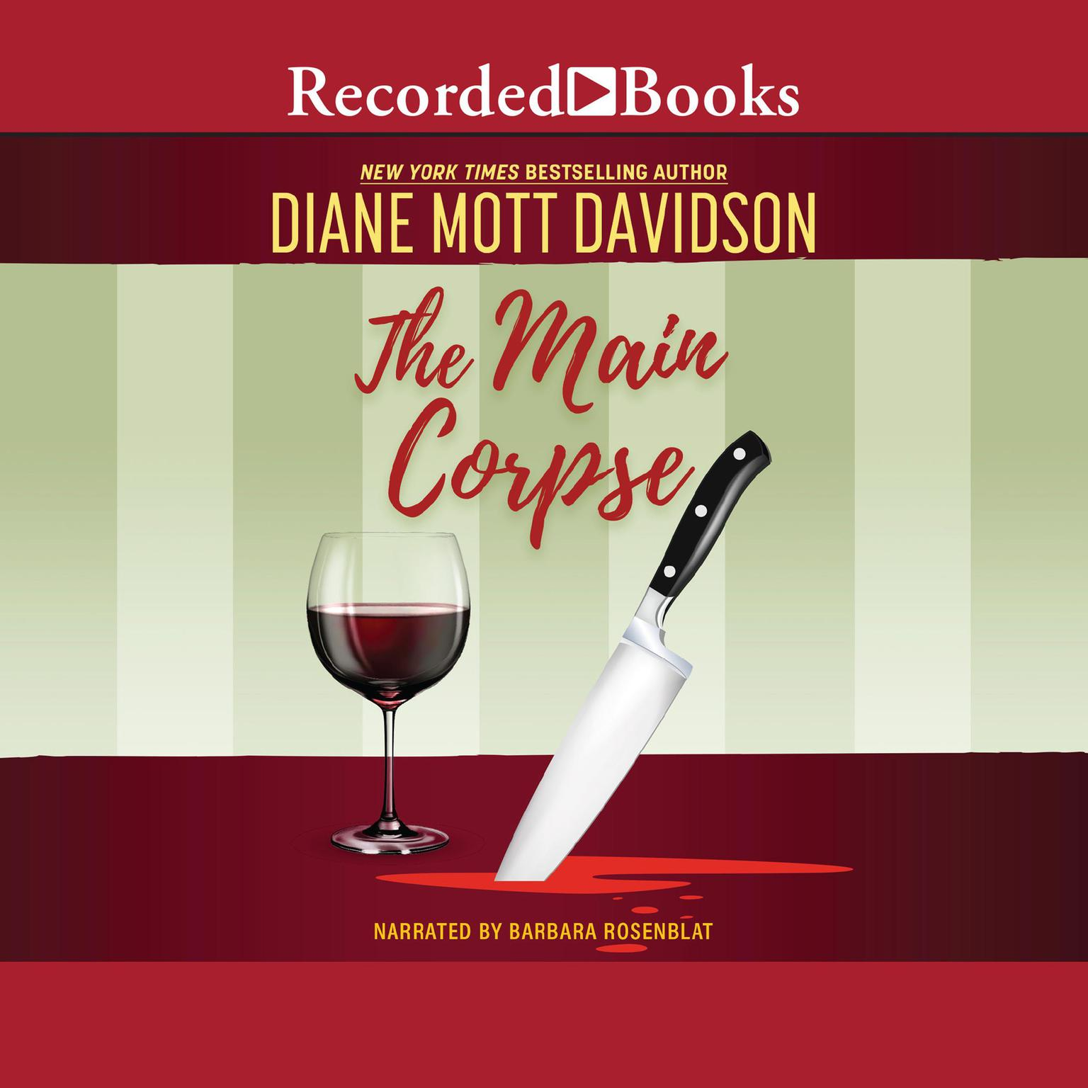 Printable The Main Corpse Audiobook Cover Art