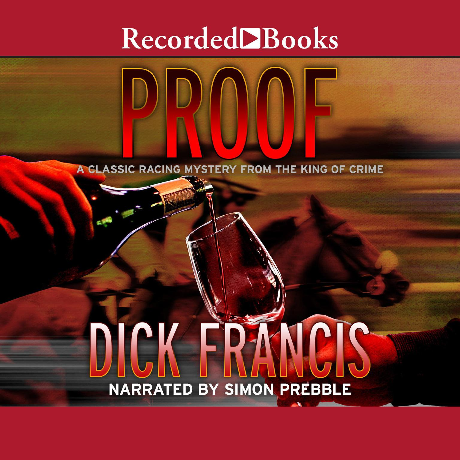 Printable Proof Audiobook Cover Art