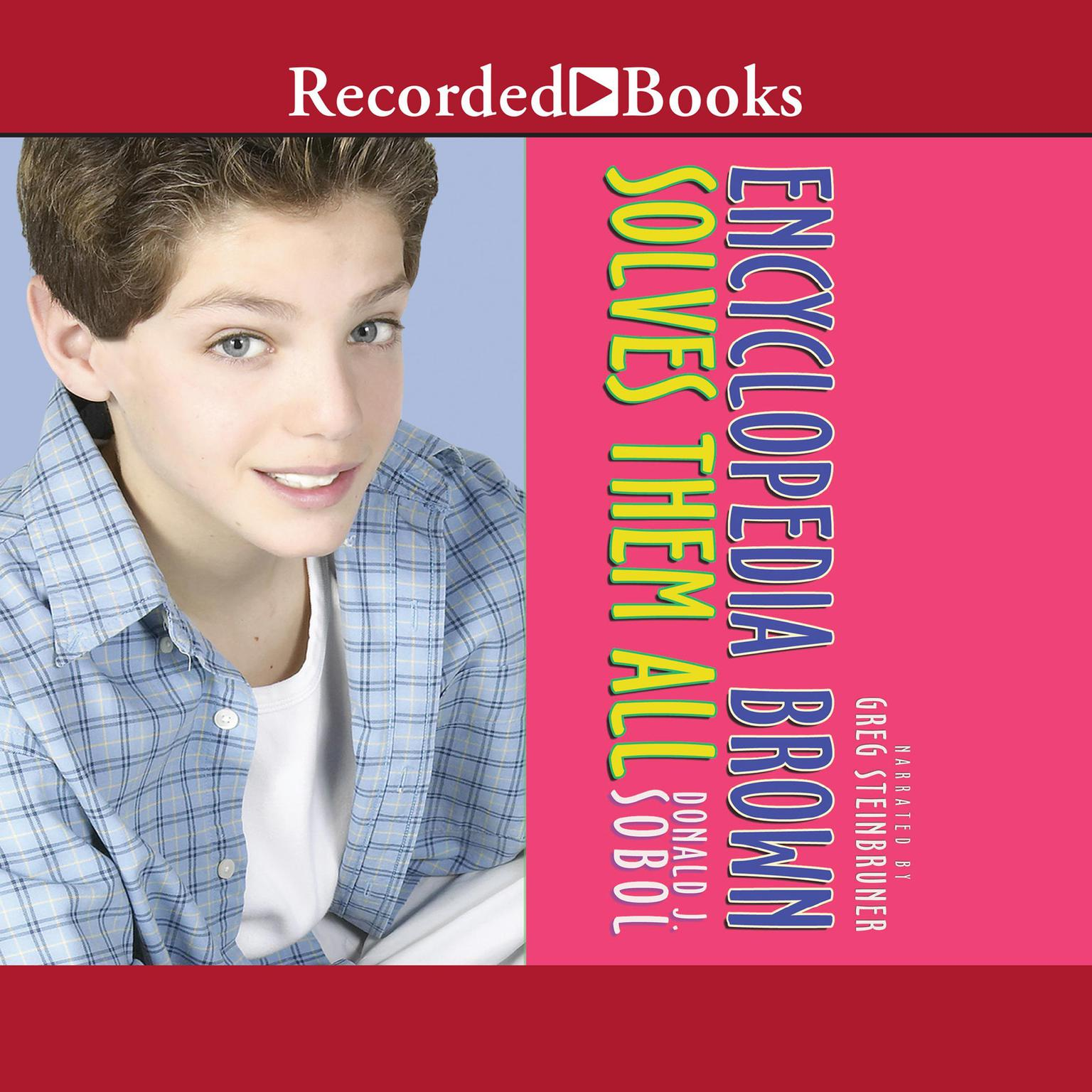 Printable Encyclopedia Brown Solves Them All Audiobook Cover Art