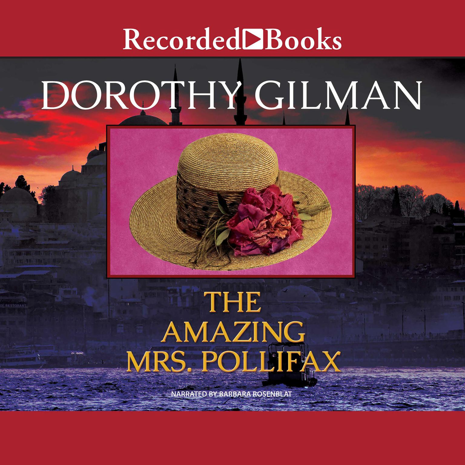 Printable The Amazing Mrs. Pollifax Audiobook Cover Art