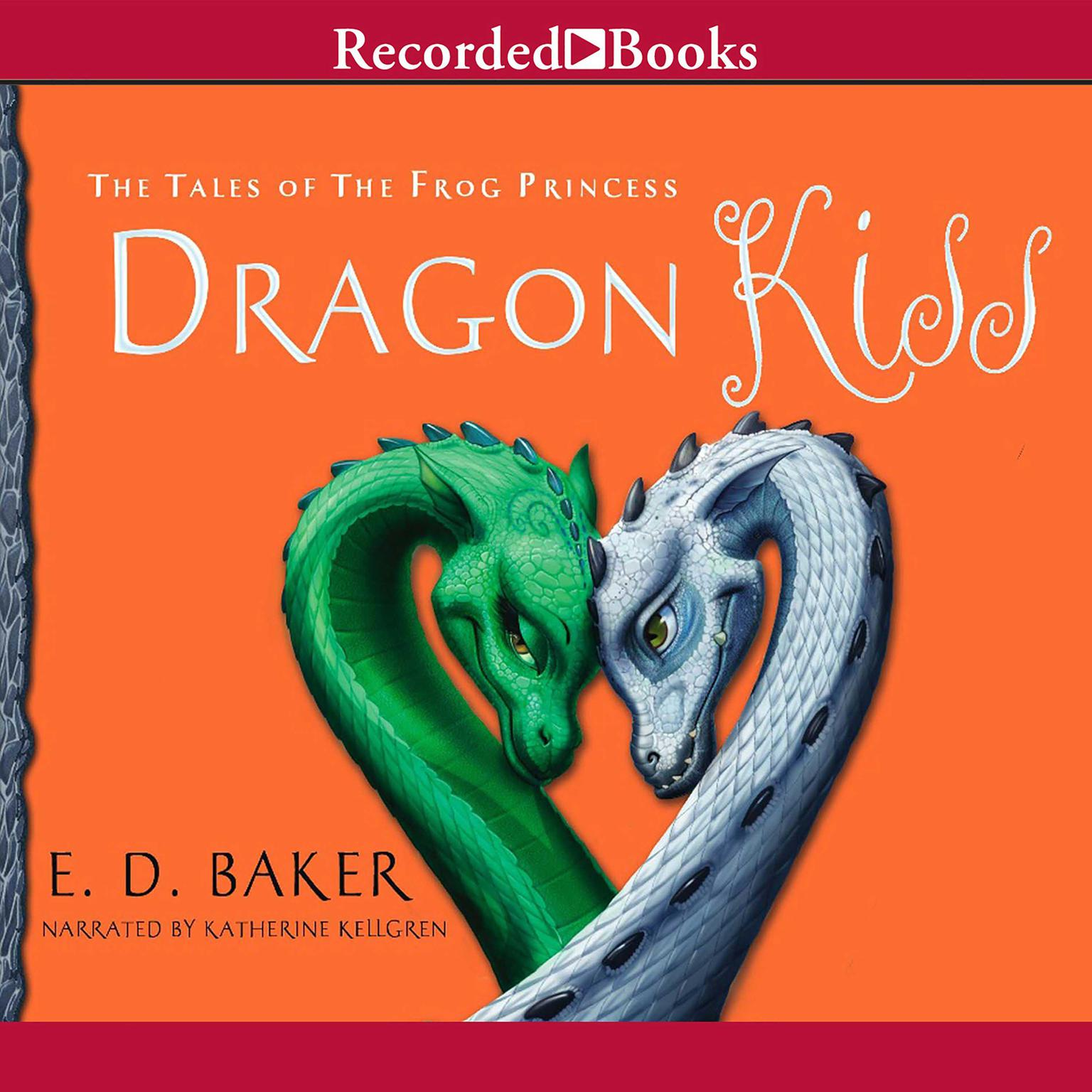 Printable Dragon Kiss Audiobook Cover Art